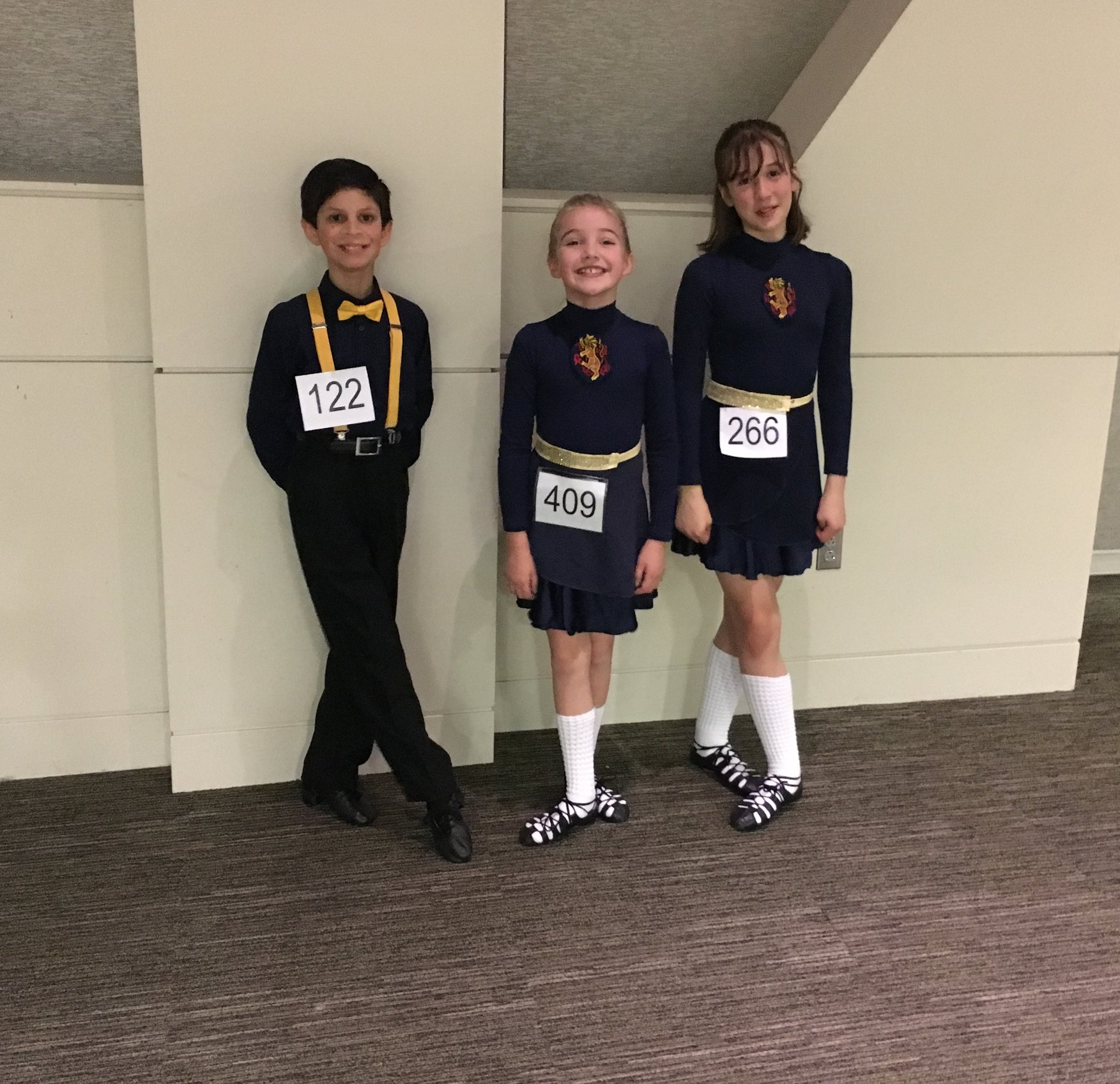 Students competing at a local feis in Seattle