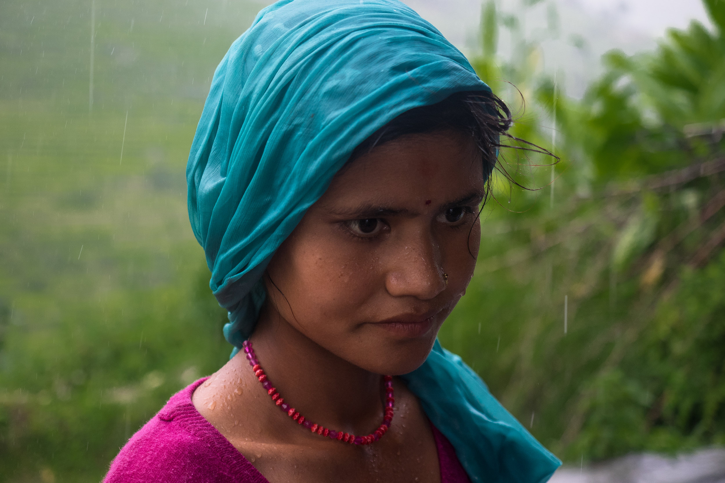 P8070944_Villager young woman portrait in Bajhang  - Aug 2017 - by Elina Tran.jpg
