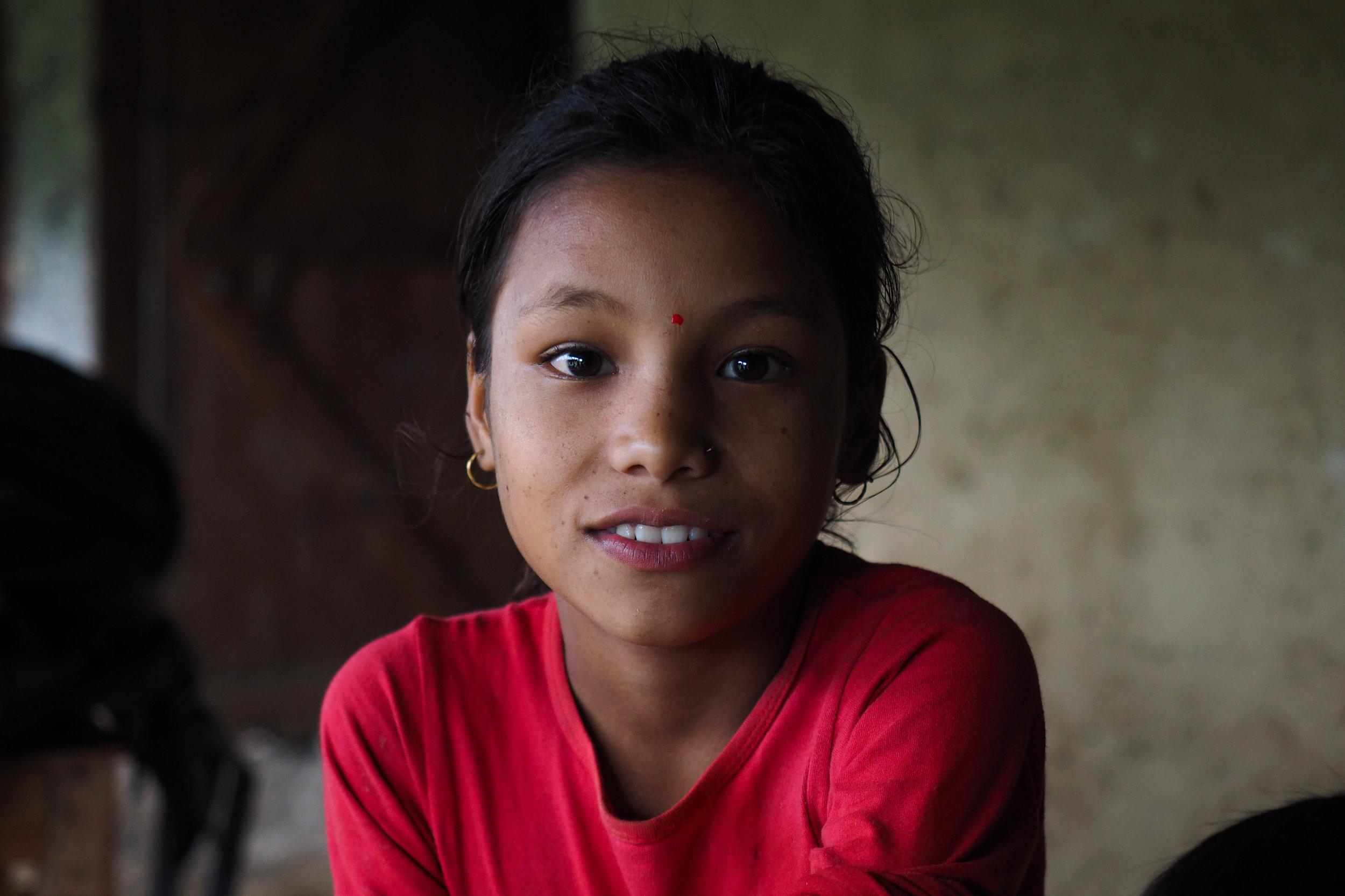 P8100510_Girl in village in Bajhang - by Elina Tran.jpg