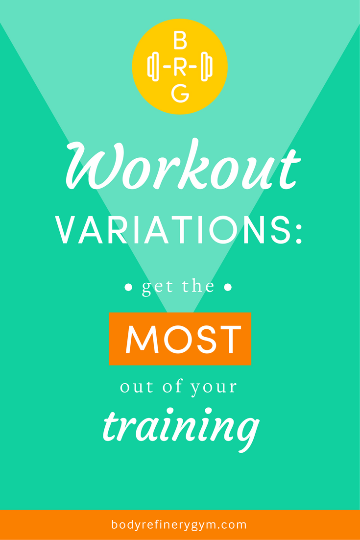 workout variations