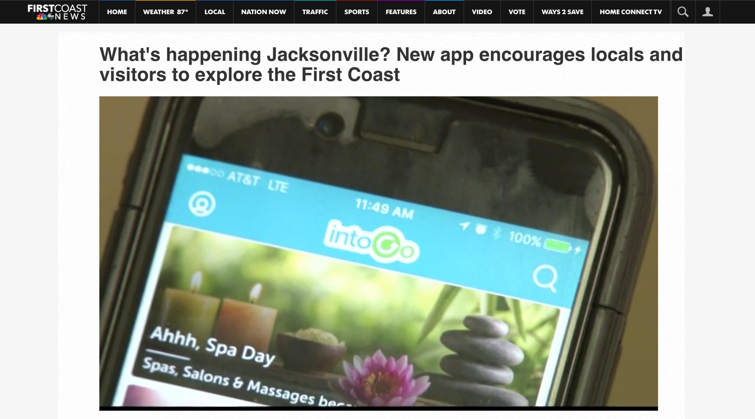 intoGo on First Coast News
