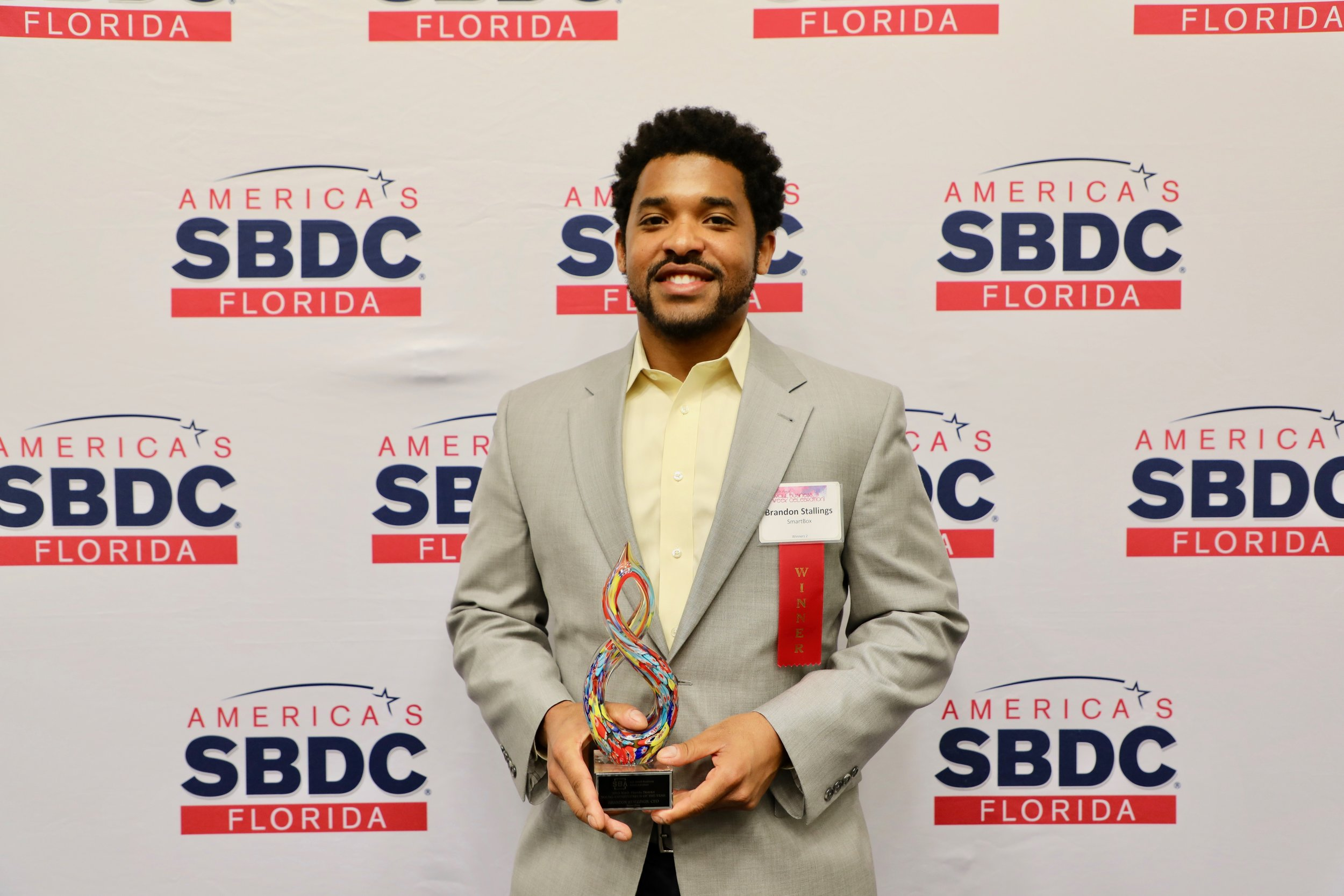Brandon Stallings, SBA Young Entrepreneur of the Year