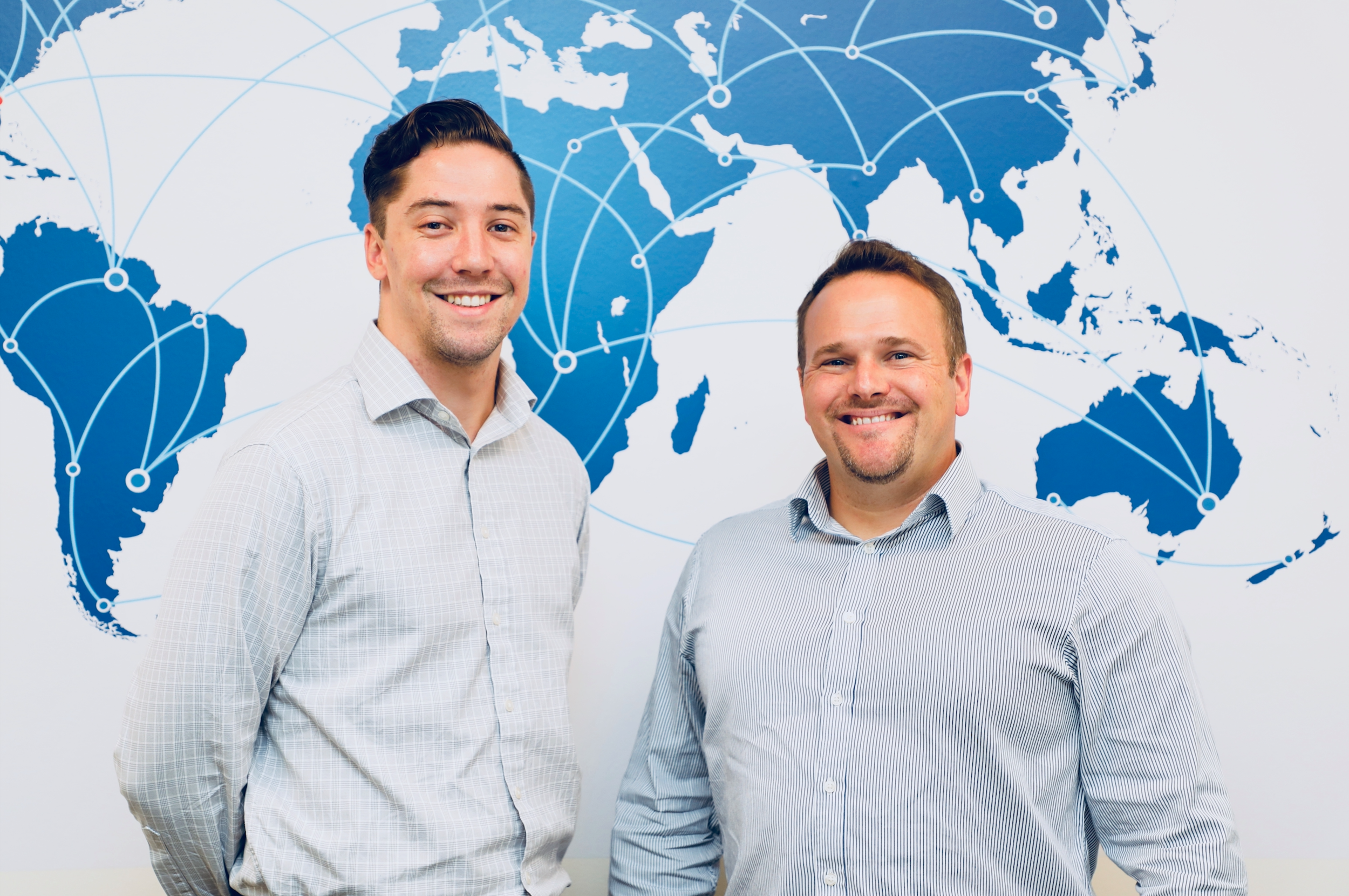 James Cowan and Will Bewley Co-Founders of Docity