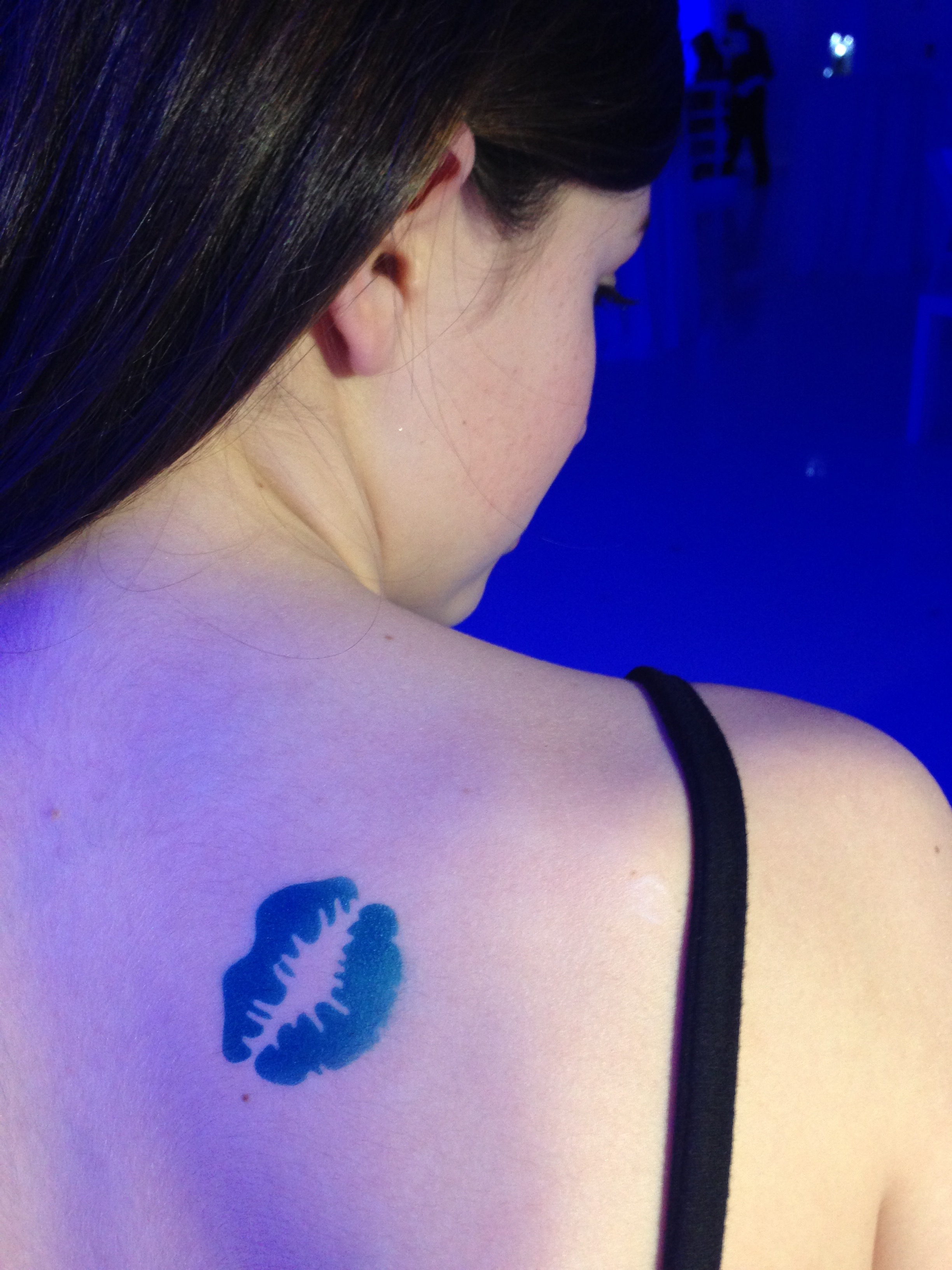 Gallery - Airbrush tattoo blue lips.jpg