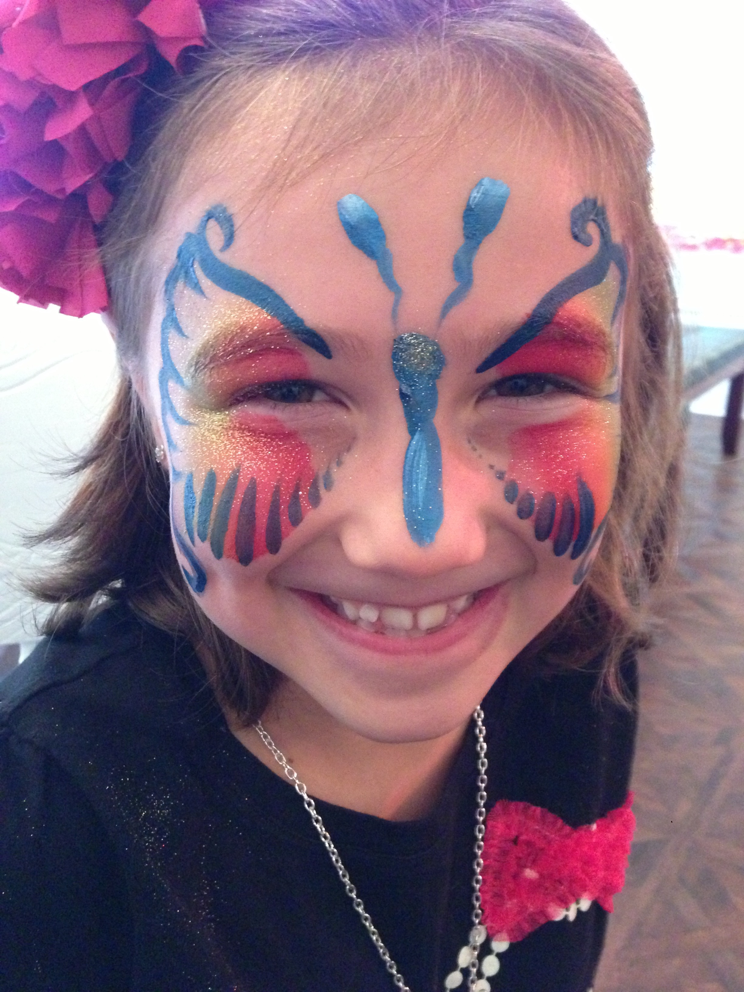 Gallery - Face Paint butterfly smile.jpg