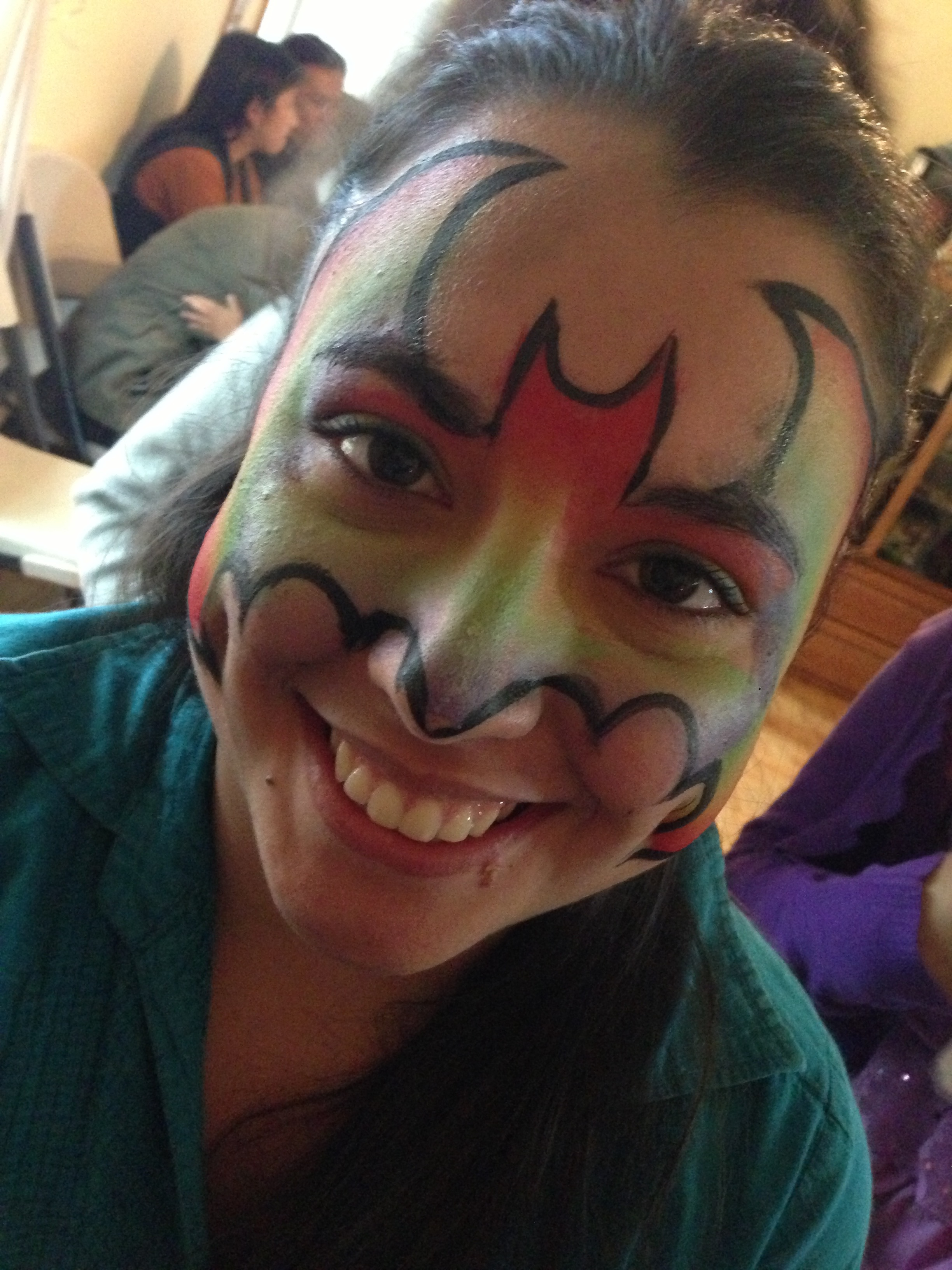 Adult Face Paint - smile batman rainbwo.jpg