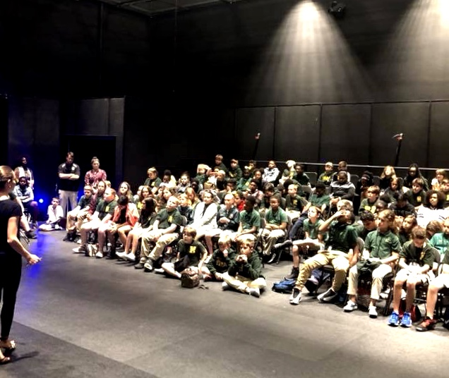 St Charles's Parish workshops and performances, NO, September 2018