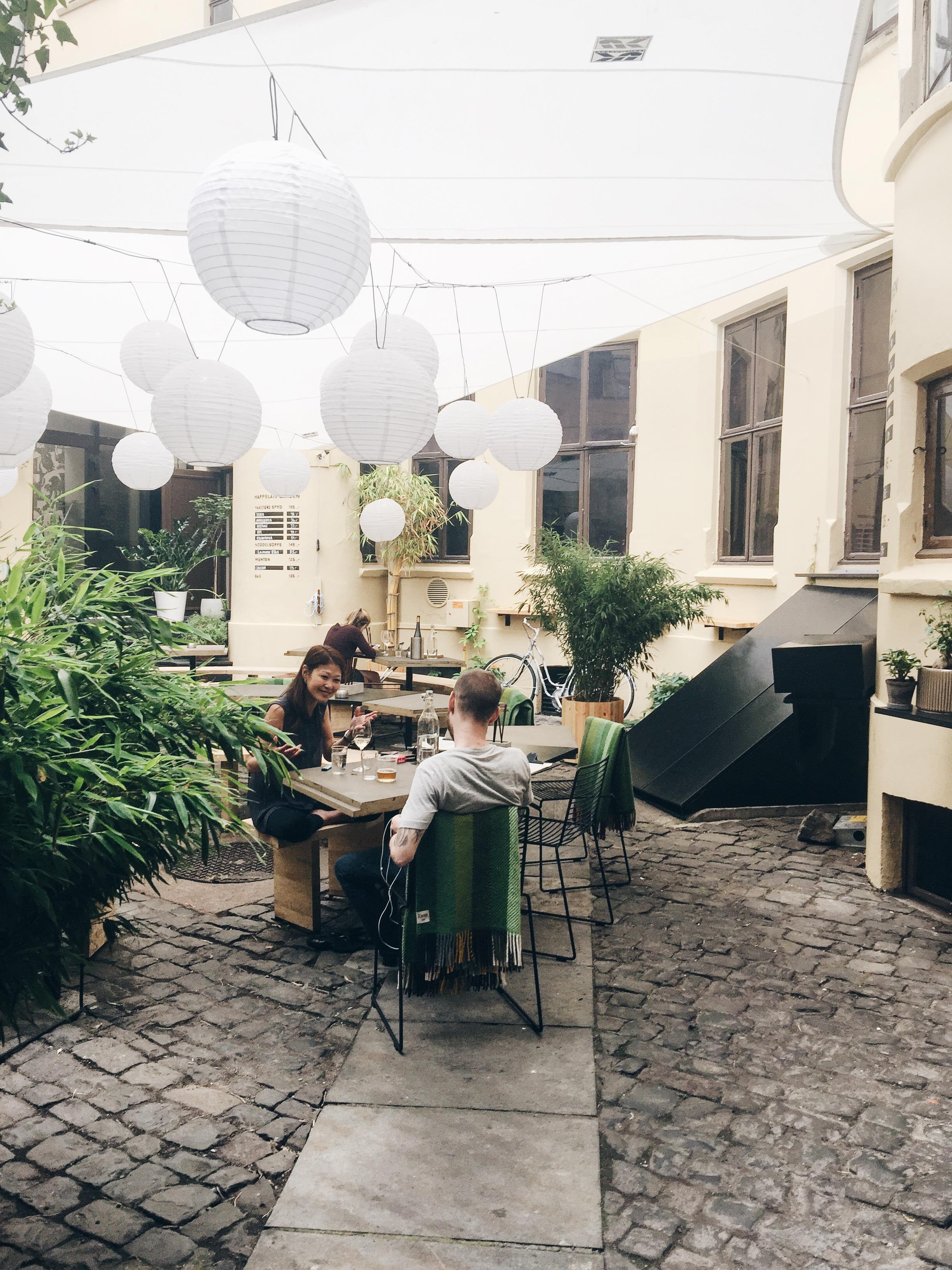Happolati's courtyard