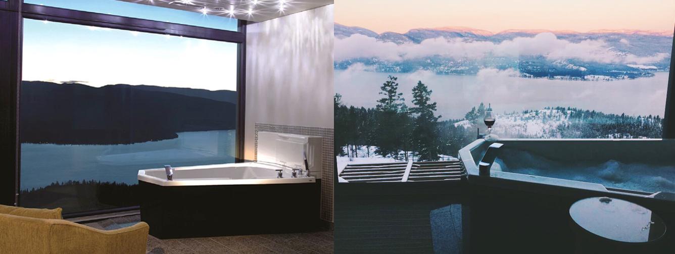 SWAROVSKI HOTEL BATHTUB