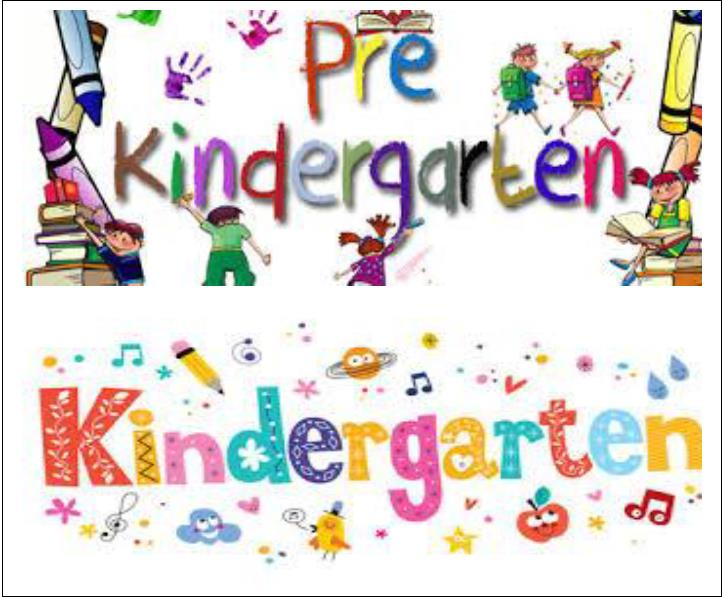 Kindergarten Supply List 2019-2020
