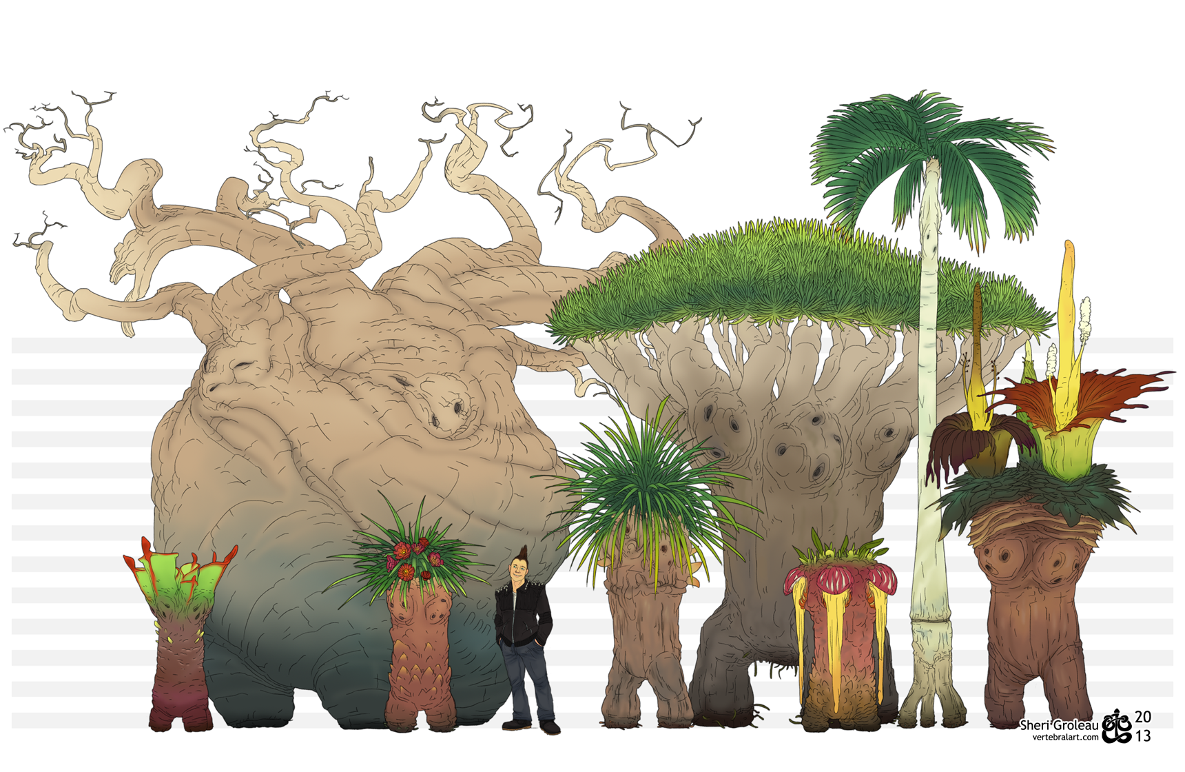 "Adult  Exeggutor  are producers, with some species also falling within the consumer population. Other consumer Pokemon species feed upon and rely on them to maintain and sustain their ecosystems. Exeggutor provide shelter, nutrients, as well as food and access to prey to other species. The presence of Exeggutor often denotes and / or produces a very healthy, diverse, and stable ecosystem. In some cases, the Pokemon itself is an ecosystem. Areas populated by the species are often untouched by human hands due in part by the Pokemon's special ability, ""Hypnosis"", which permits the Pokemon to ward away invaders. Intruders who venture into their ranges are quickly hypnotised and sent back to whence they came or, in cases of encounters with carnivorous Exeggutor, eaten."