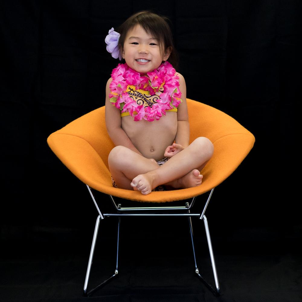 Chloe, 3 years old  Moana