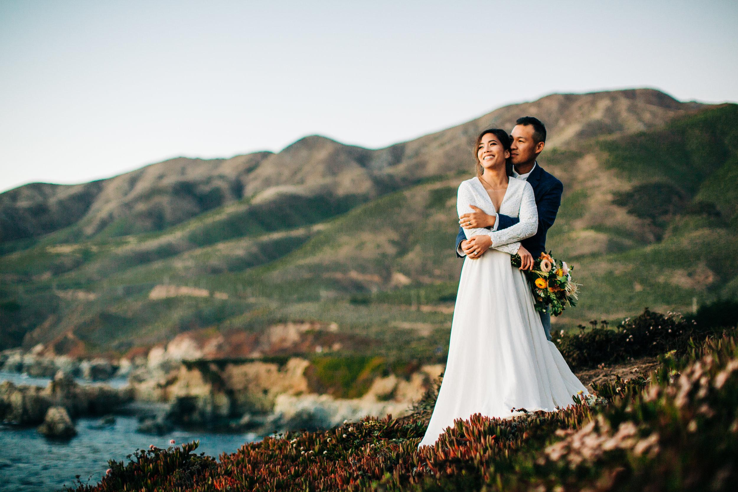 Ashley Pieper Photography | Wedding, Elopement, and Destination Photographer | Big Sur California Elopement | Sunset Elopement