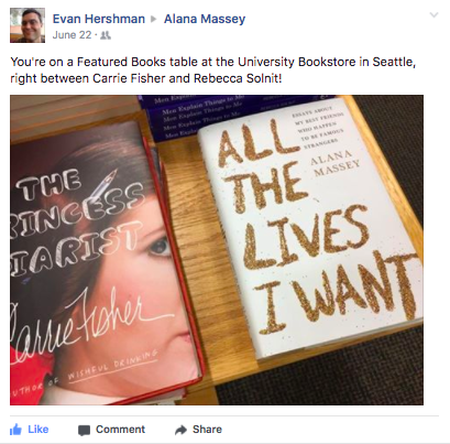 My friend Evan from grad school saw that it was placed on a table among heroes and legends! - And with GOOD REASON, DAMMIT.