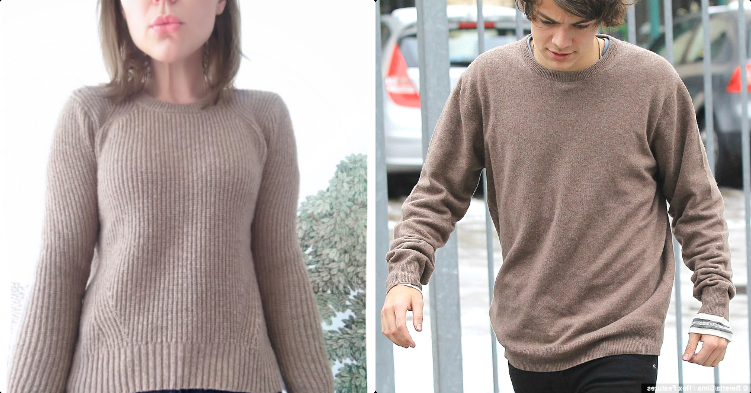 Alana Massey Harry Styles Brown Sweaters.jpg