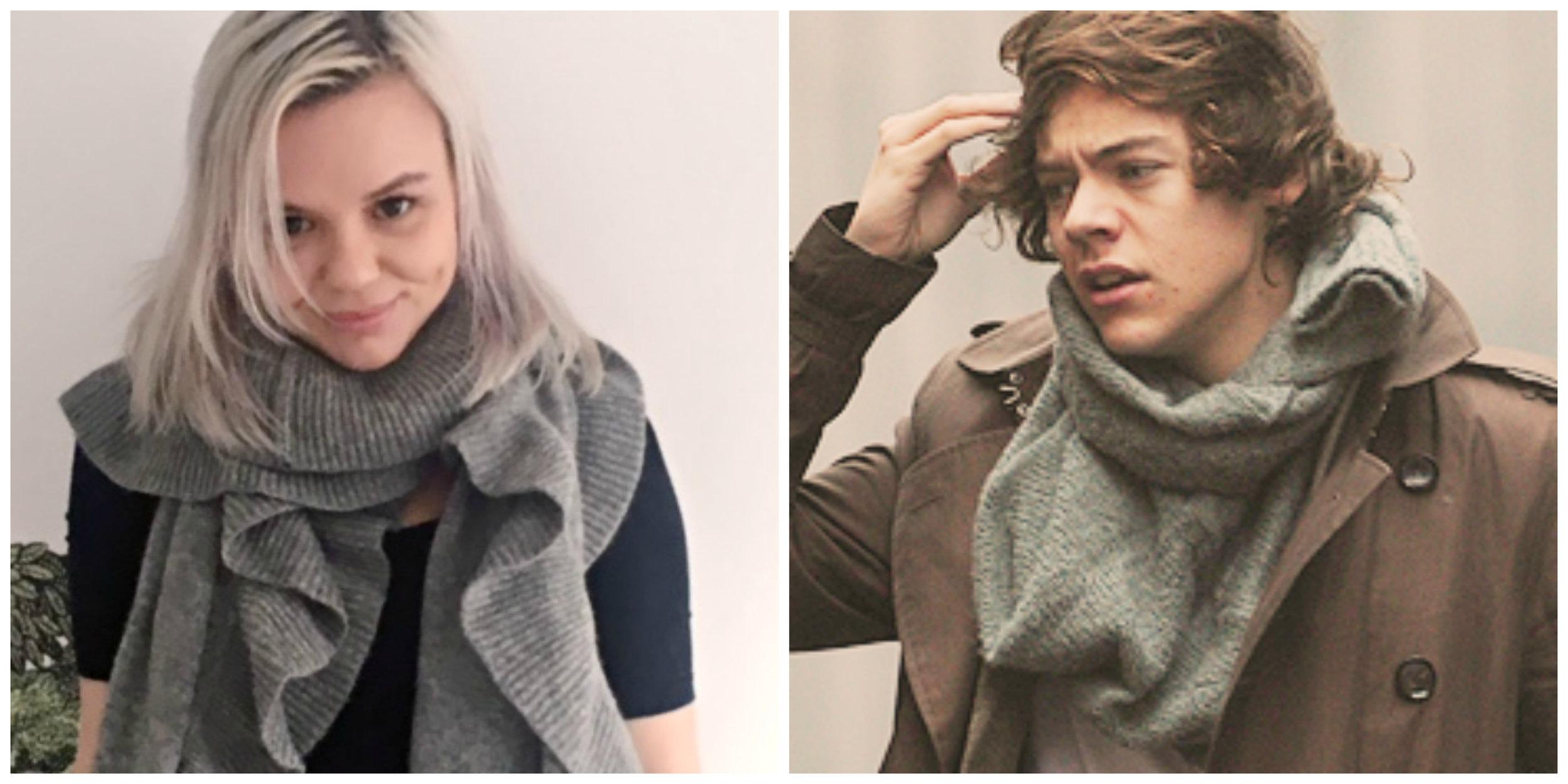 Alana Massey Harry Styles Gray Scarves.jpg