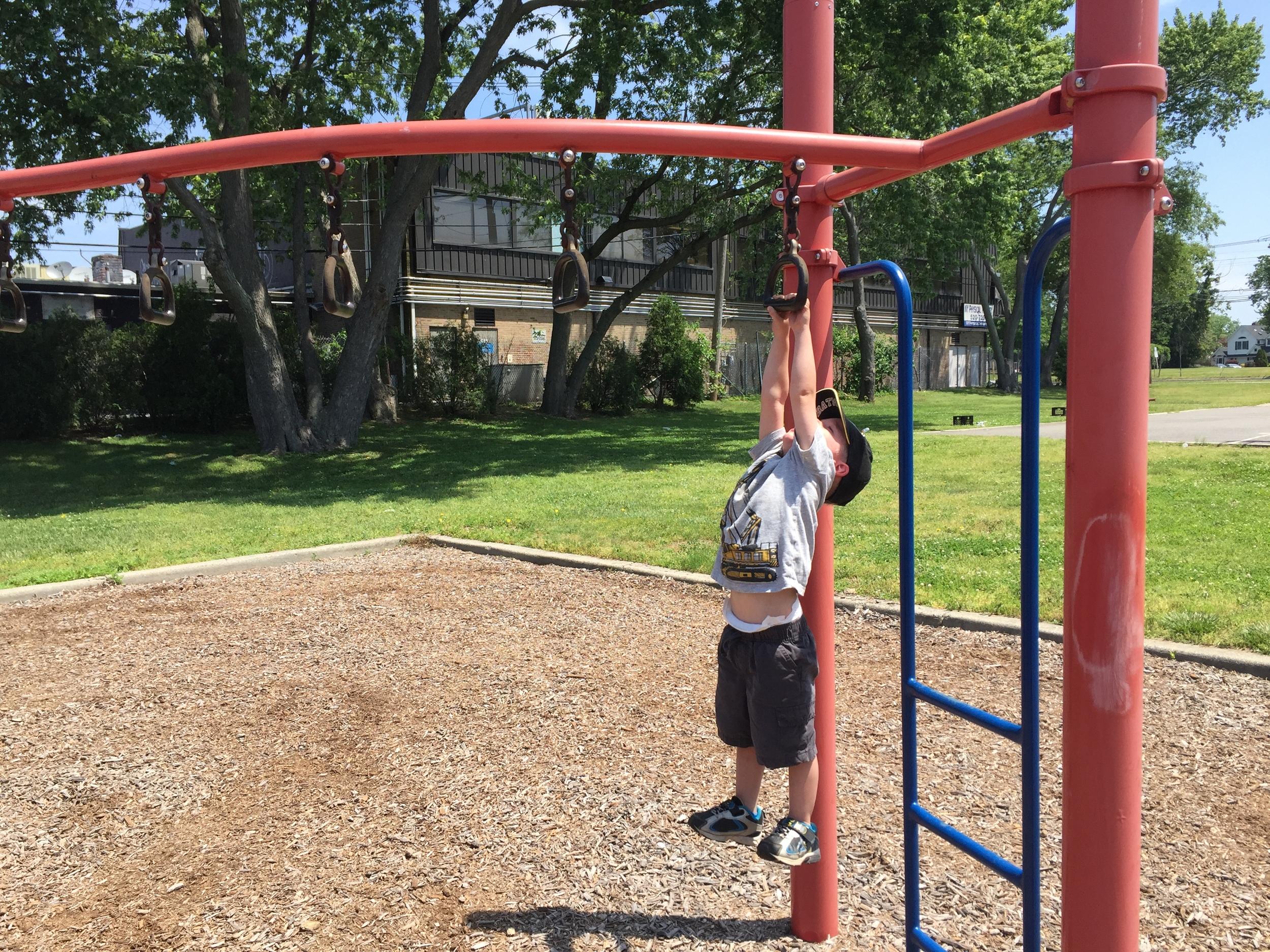 Playground at Benoit Park