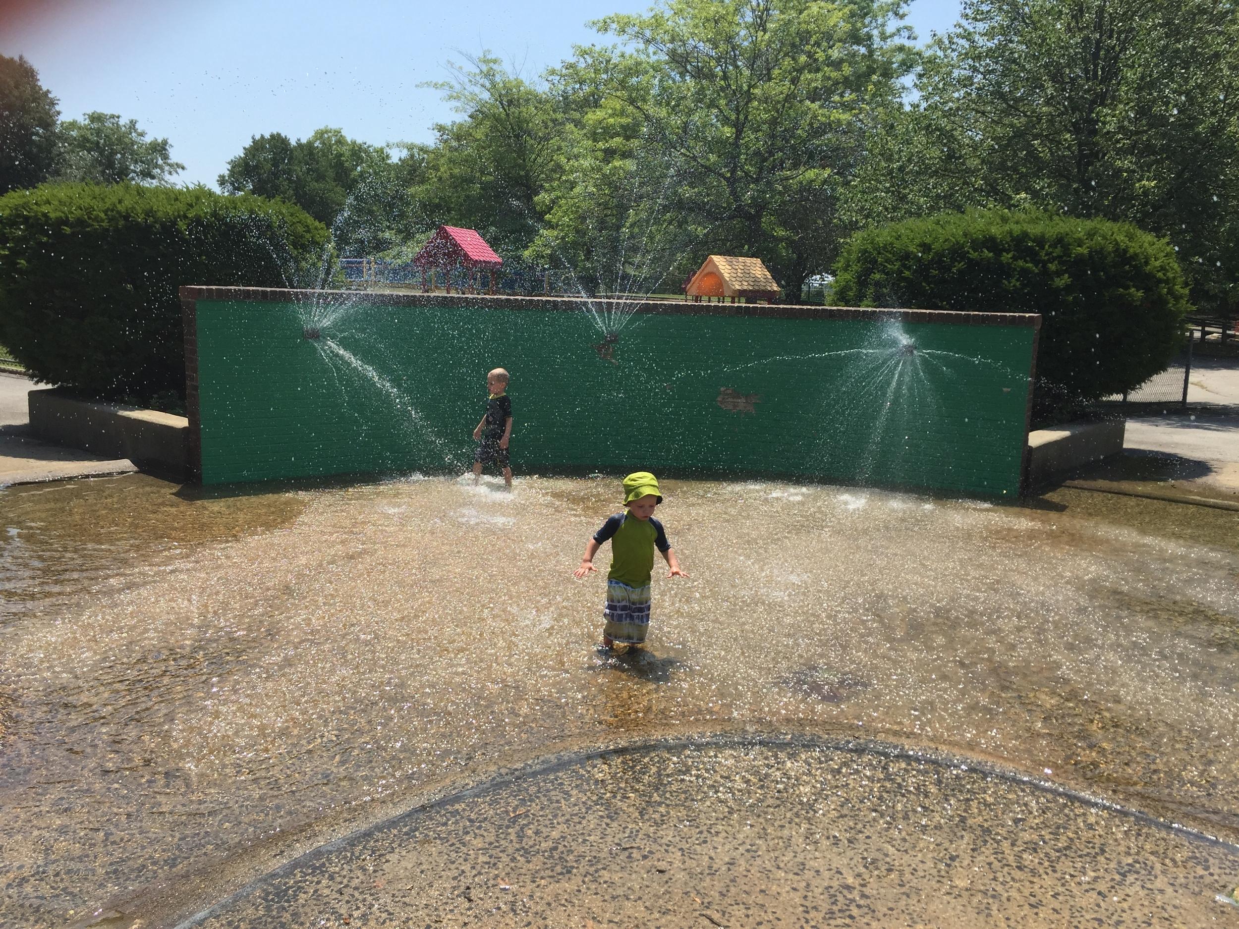 Sprayground at Seamans Neck Park