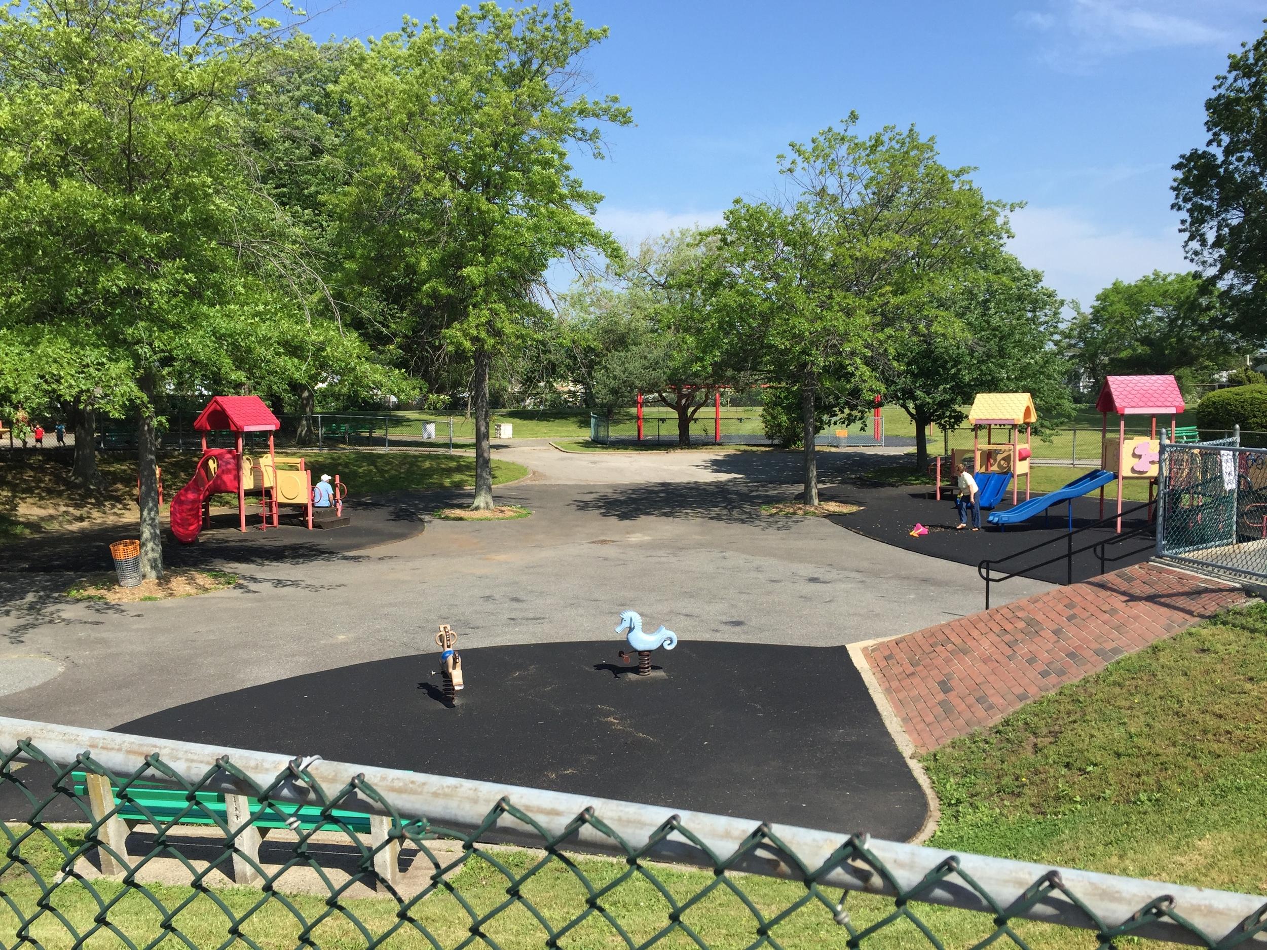 Playground at Seamans Neck Park