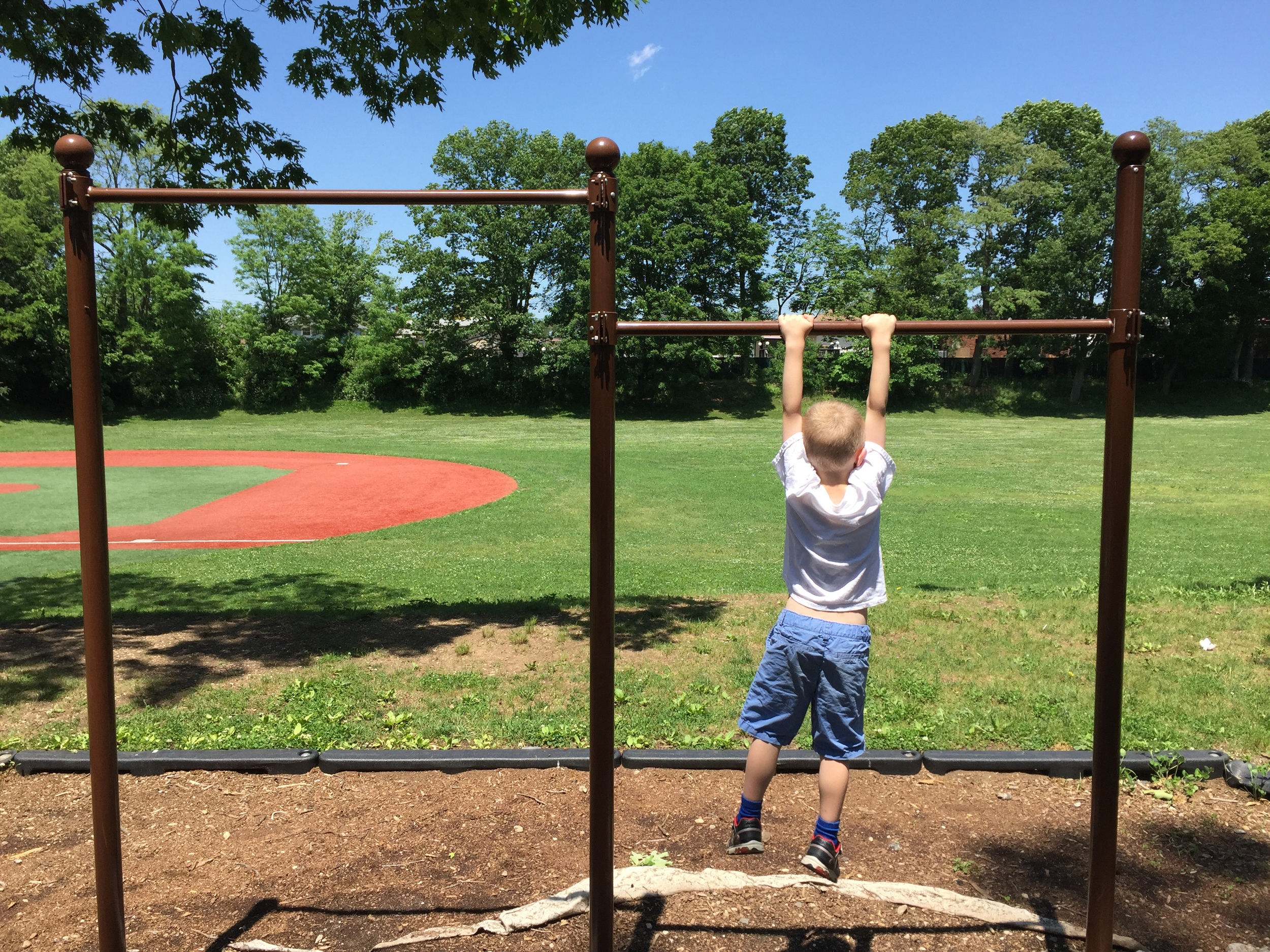 Playground at Washington Ave Park