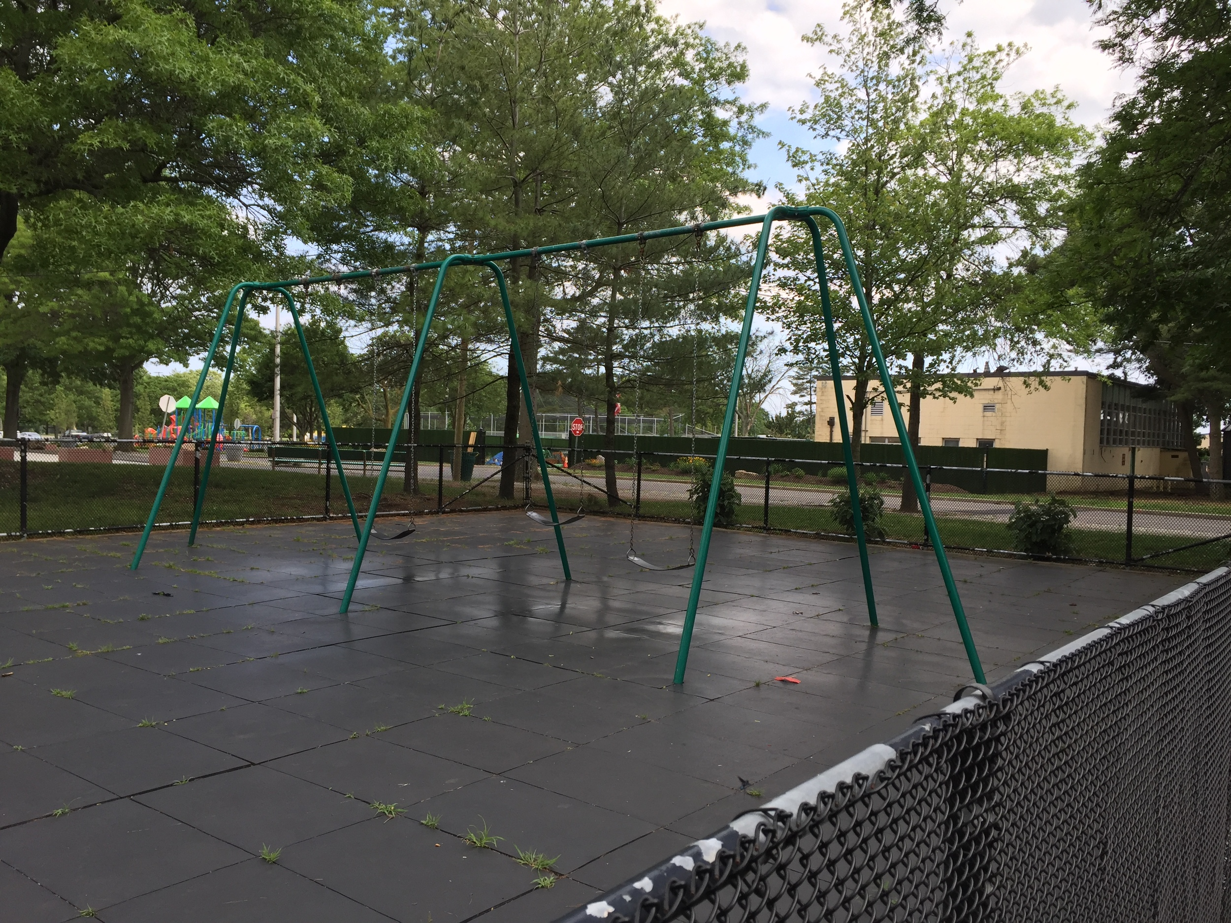 Playground at Cantiague Park