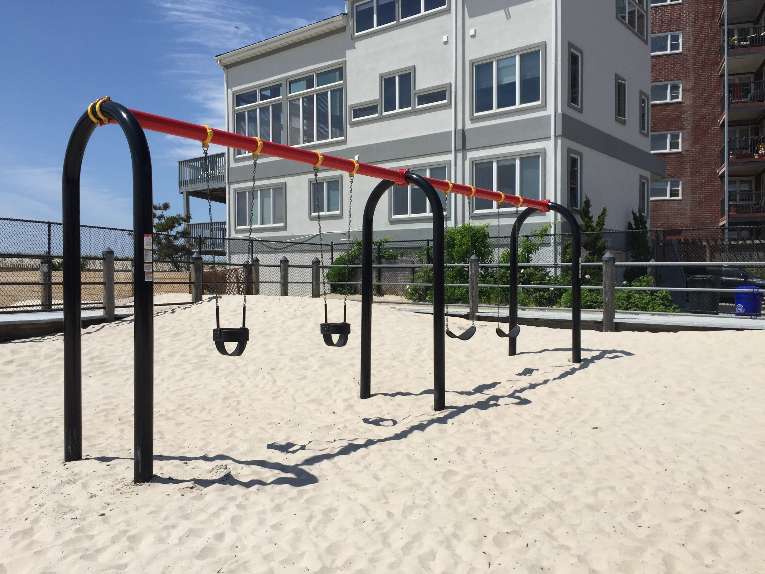 Swings at Pacific Playground