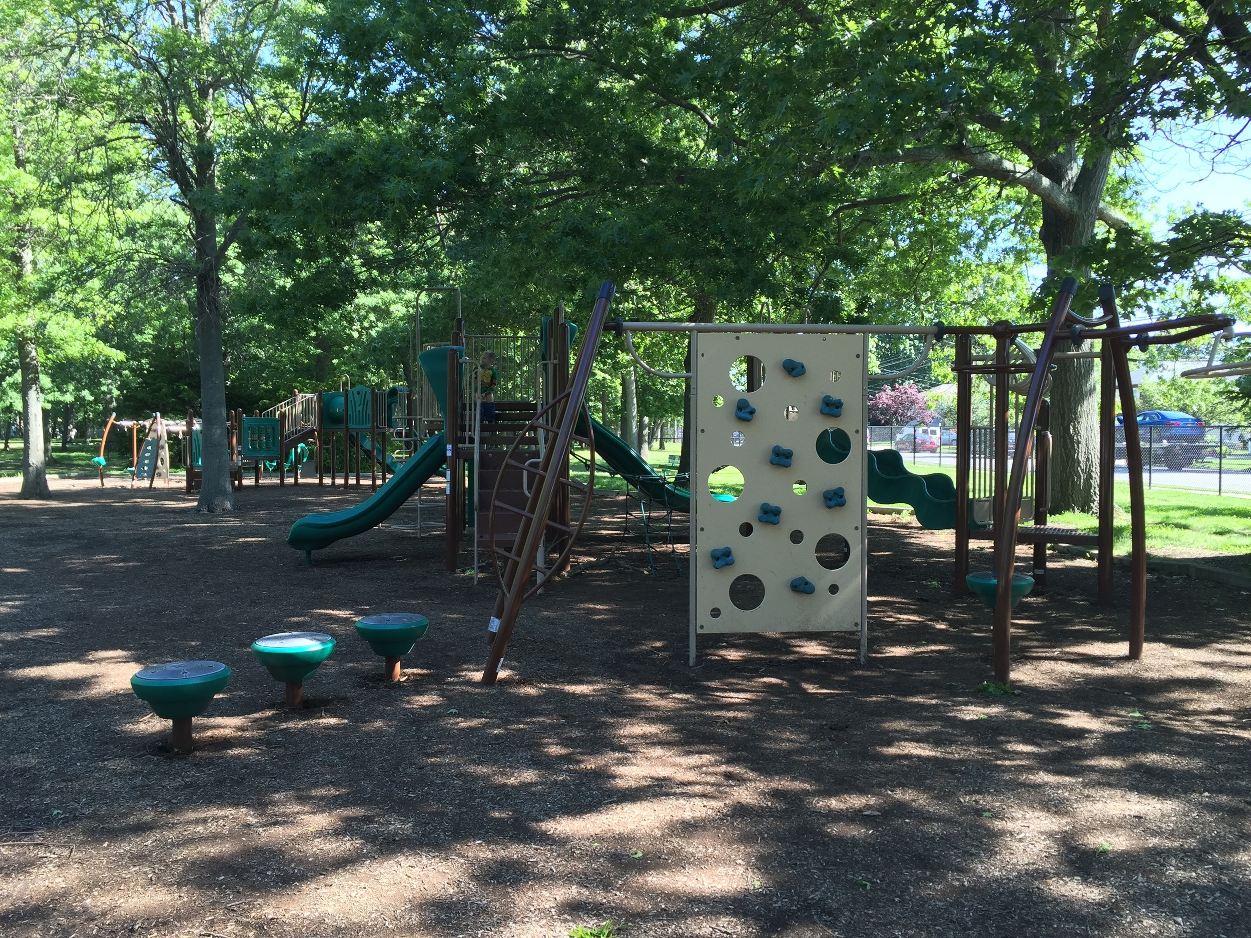 Back playground at Marjorie Post