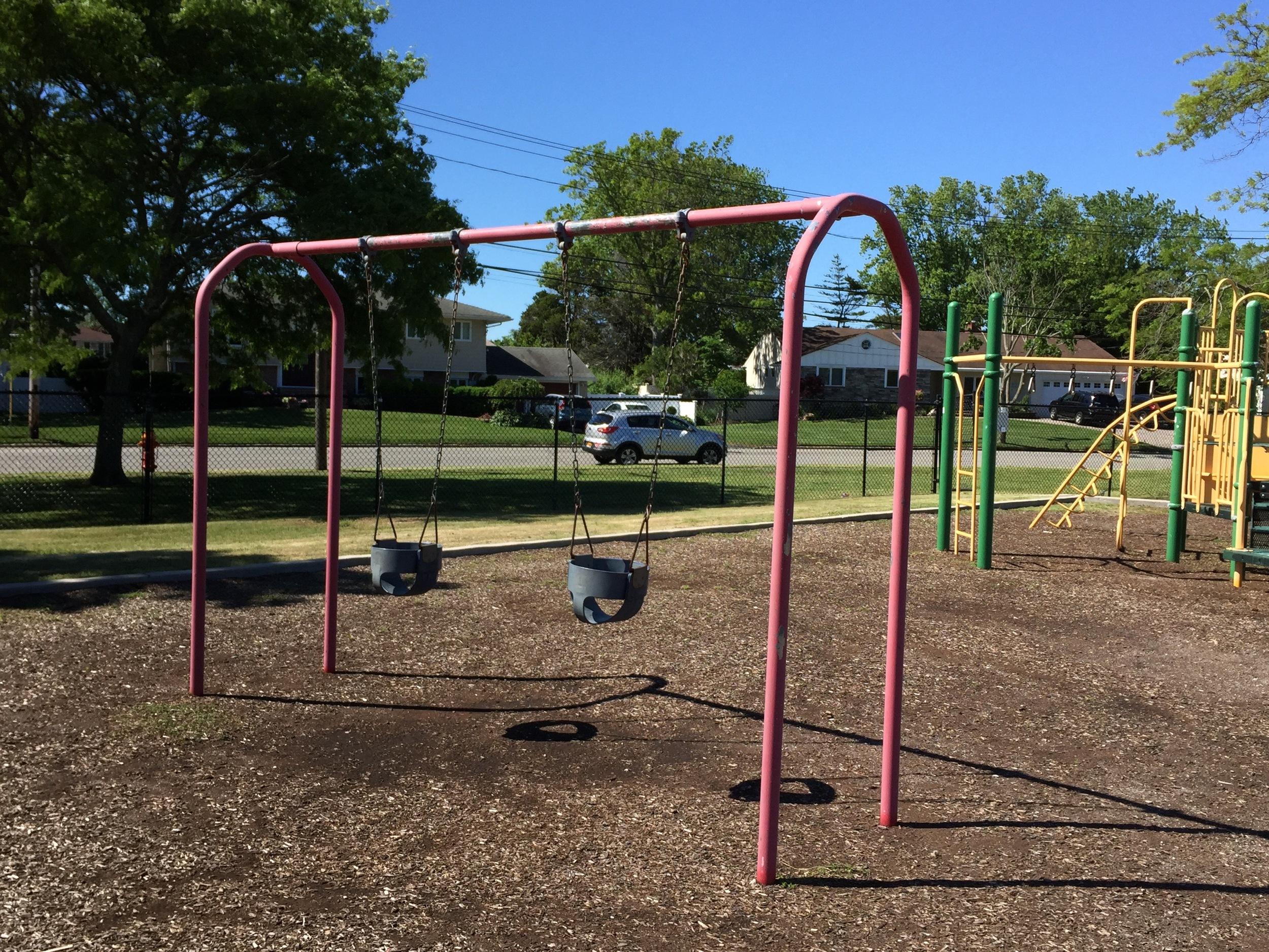 Swings at Sunset Park