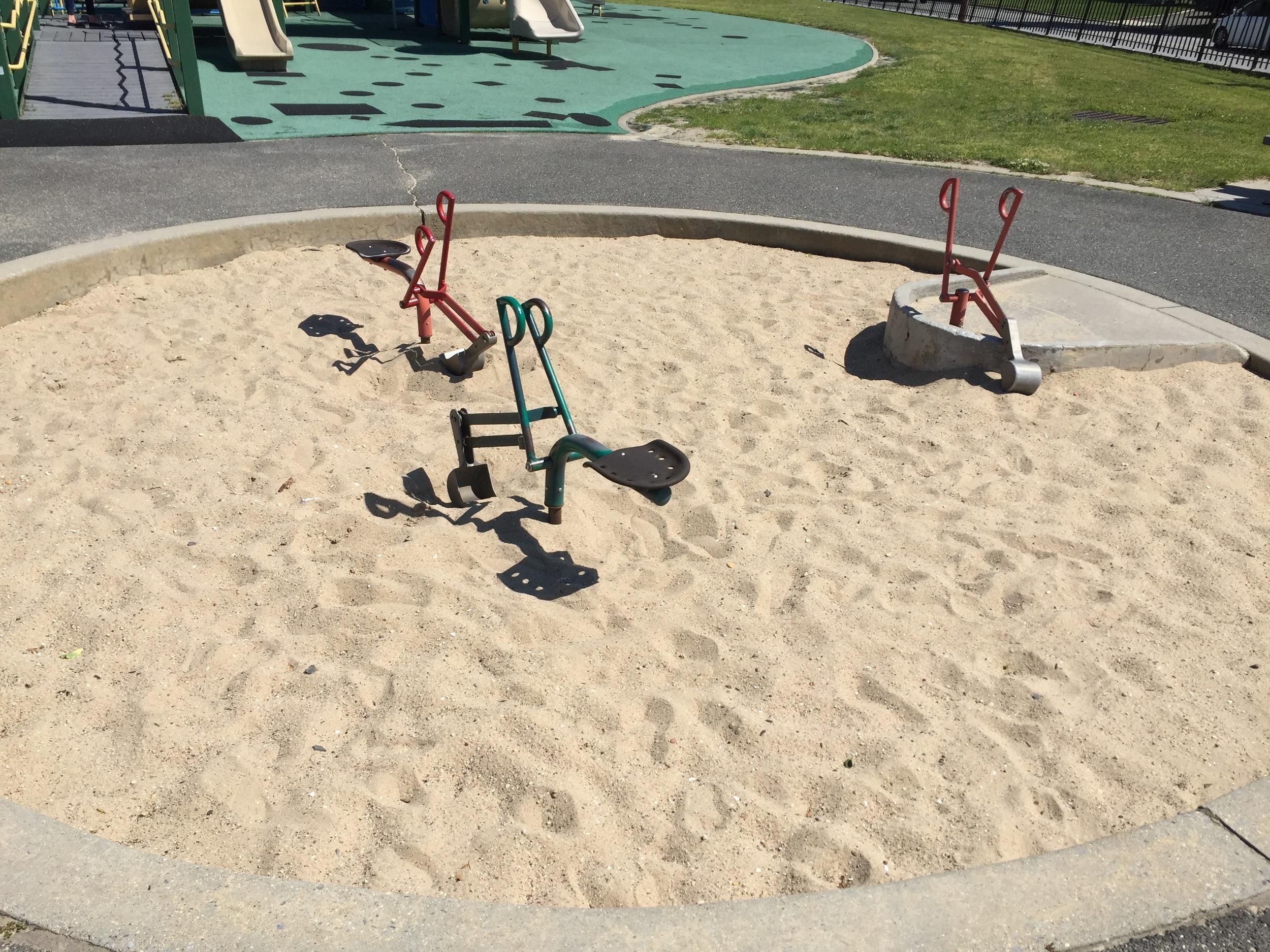 Sandbox at Newbridge Playground