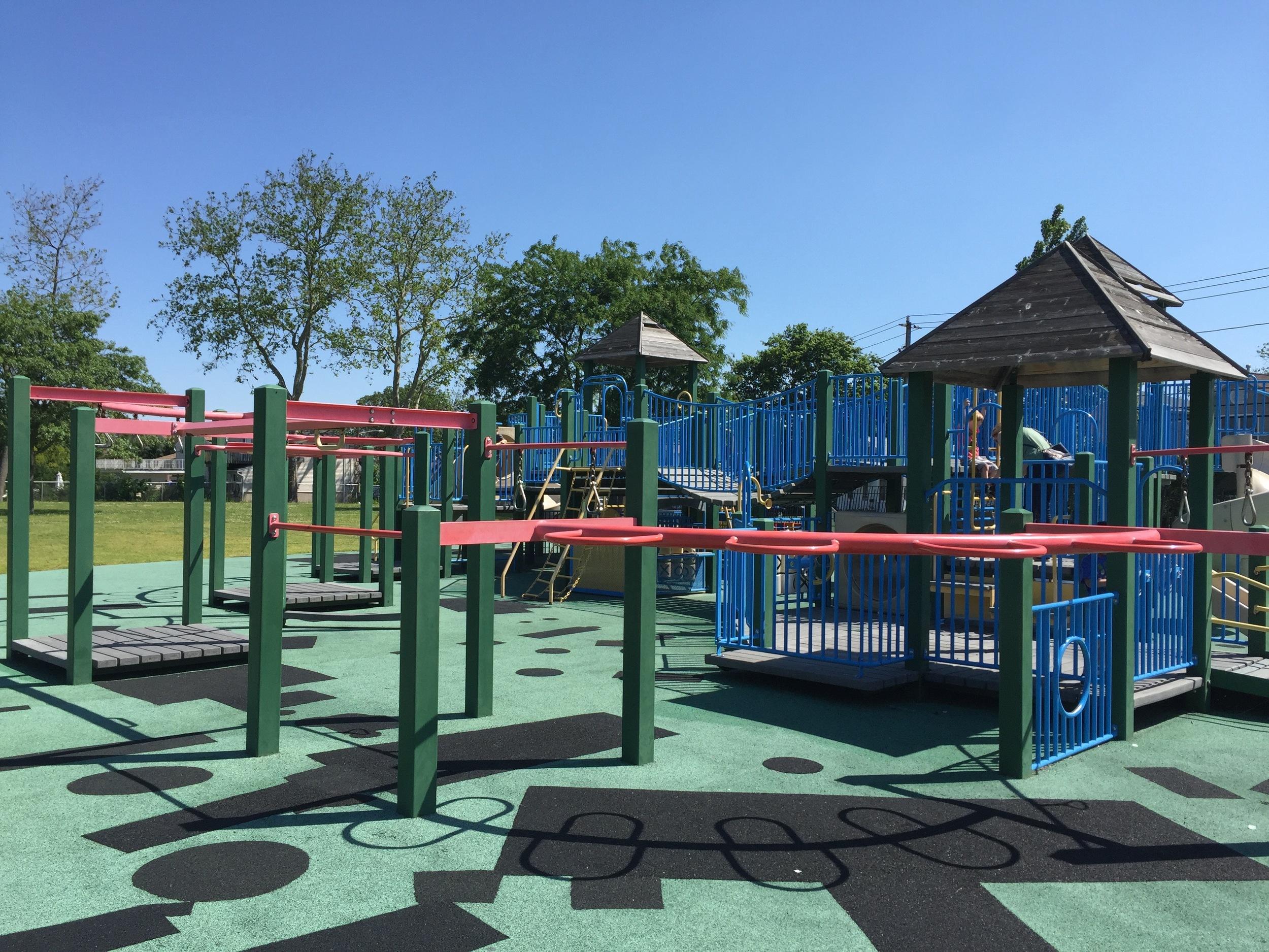 Playground at Newbridge Playground