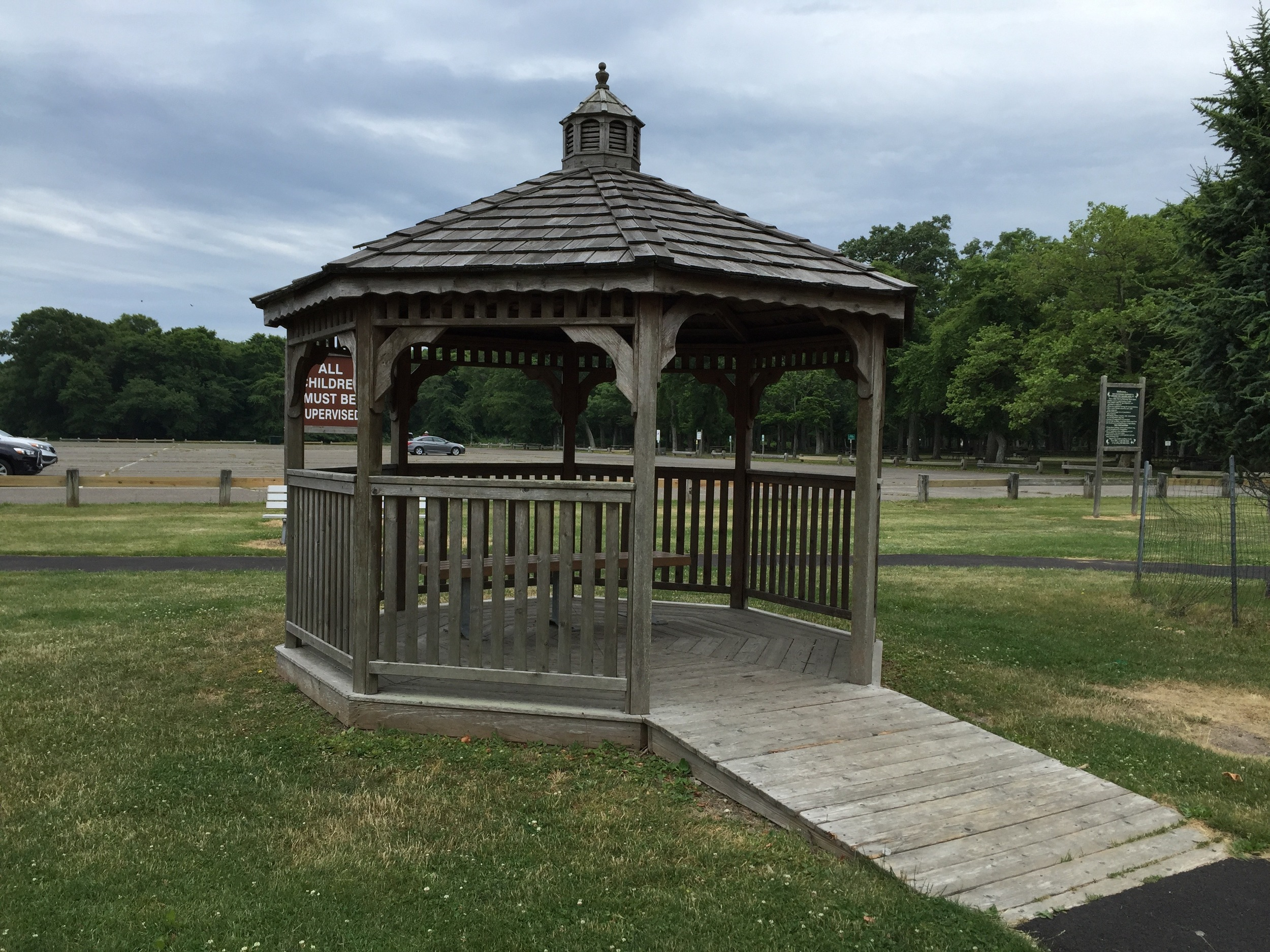 Field 1 Gazebo at Heckscher State Park
