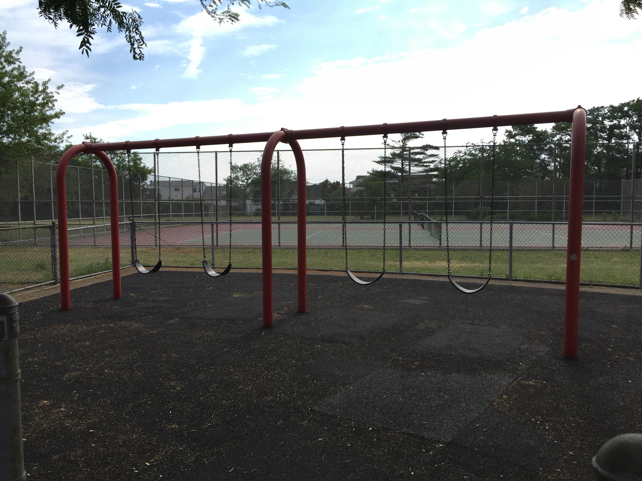 Swings at East Bay Park