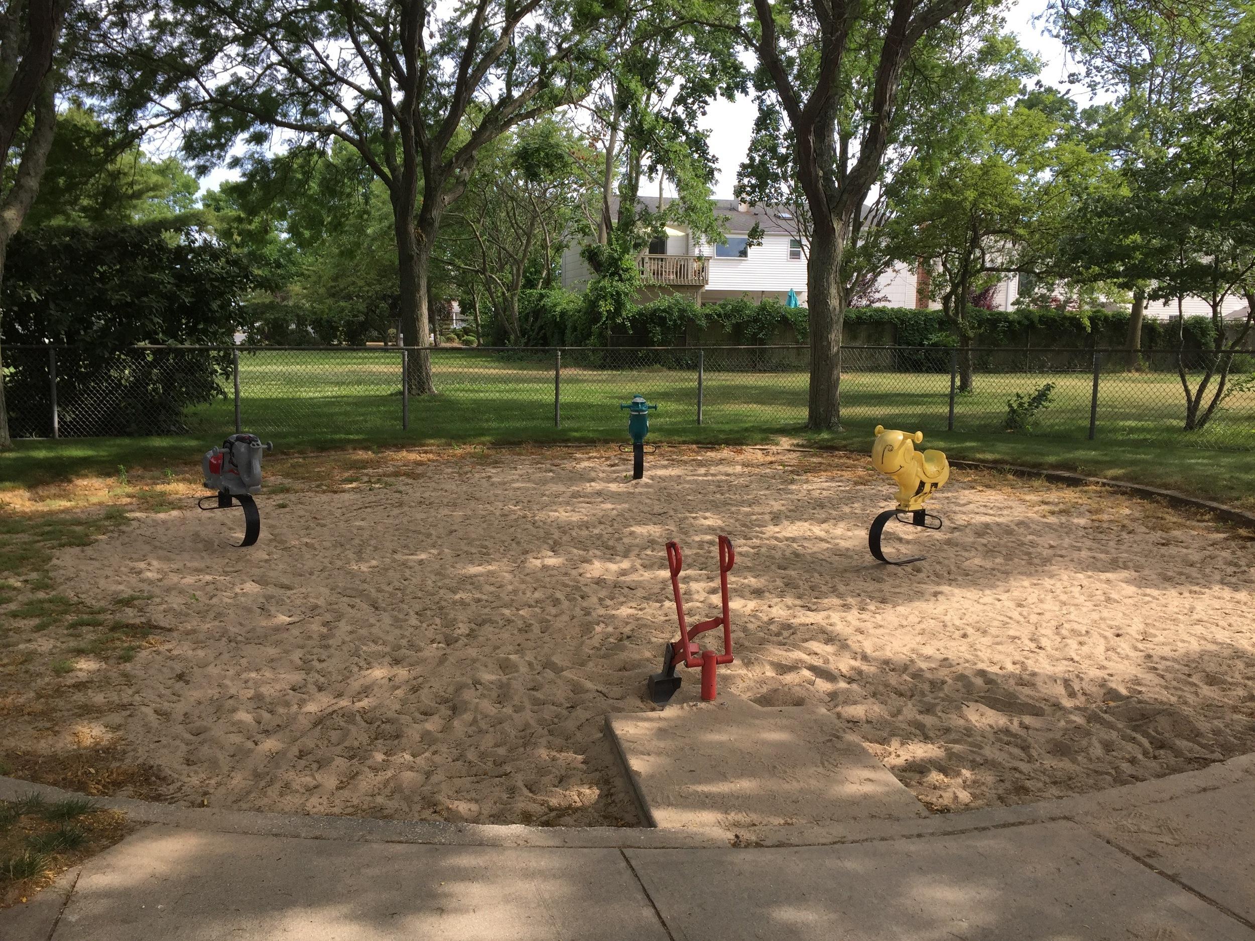 Sandbox at East Bay Park