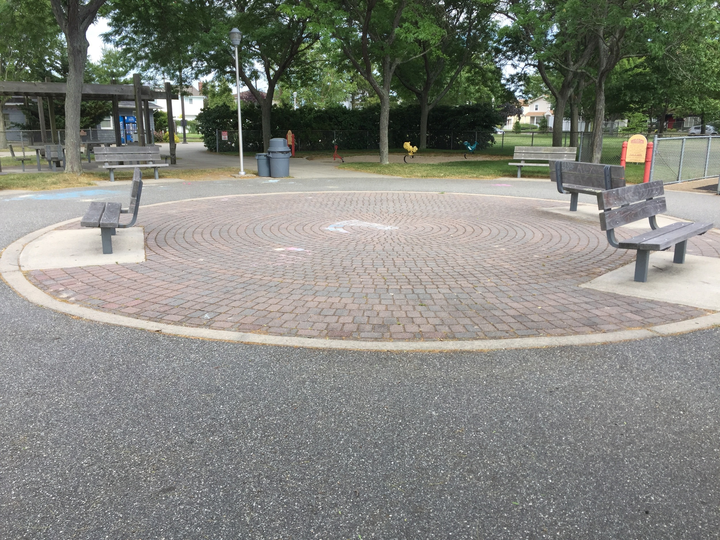 Playground at East Bay Park