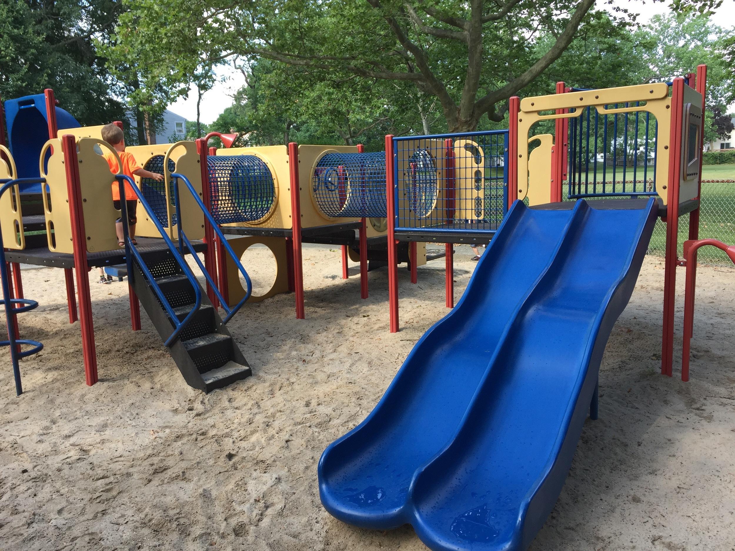 Playground at Fraser Ave Playground