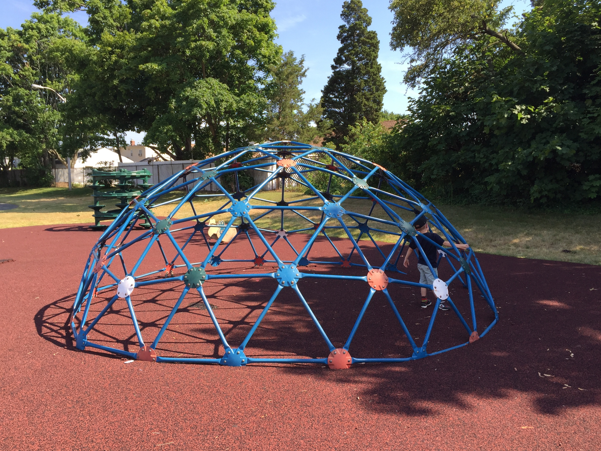 Dome climber at Michel Park