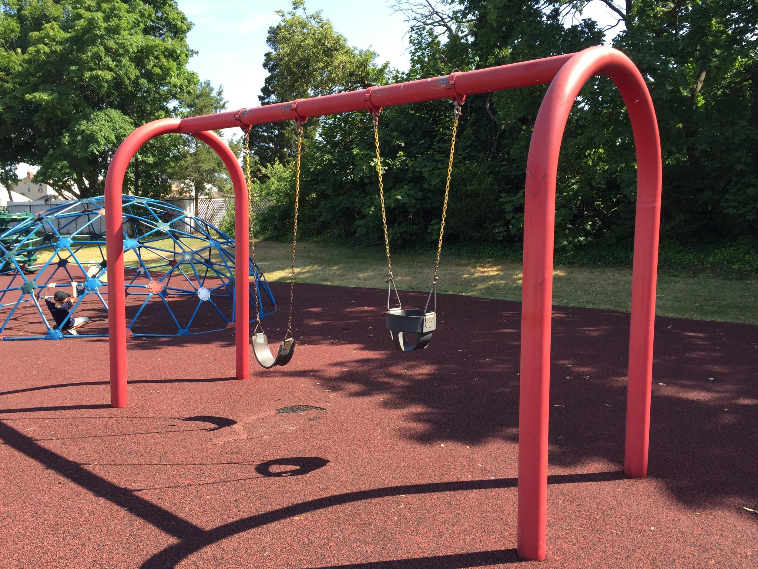 Swings at Michel Park