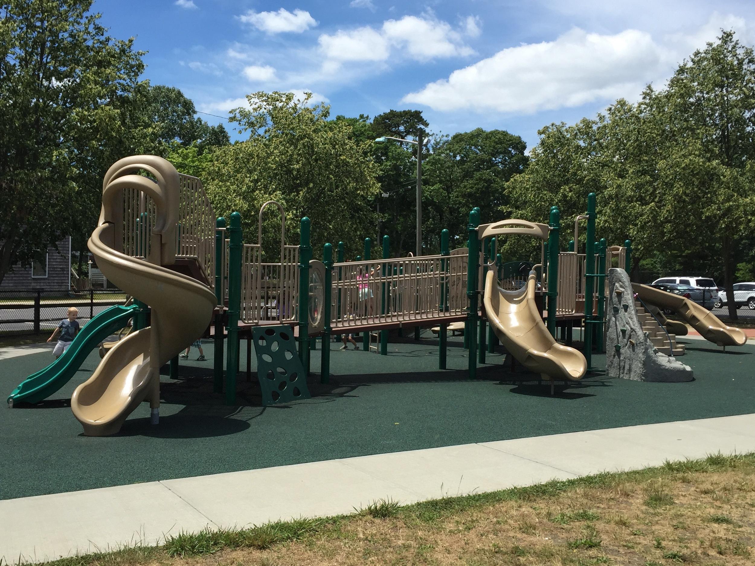 Playground at Brookwood Hall Park