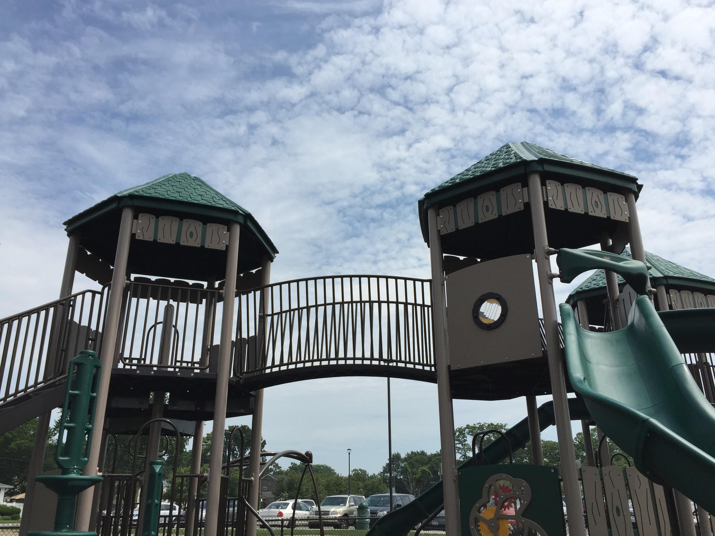 Playground at Geiger Memorial Park