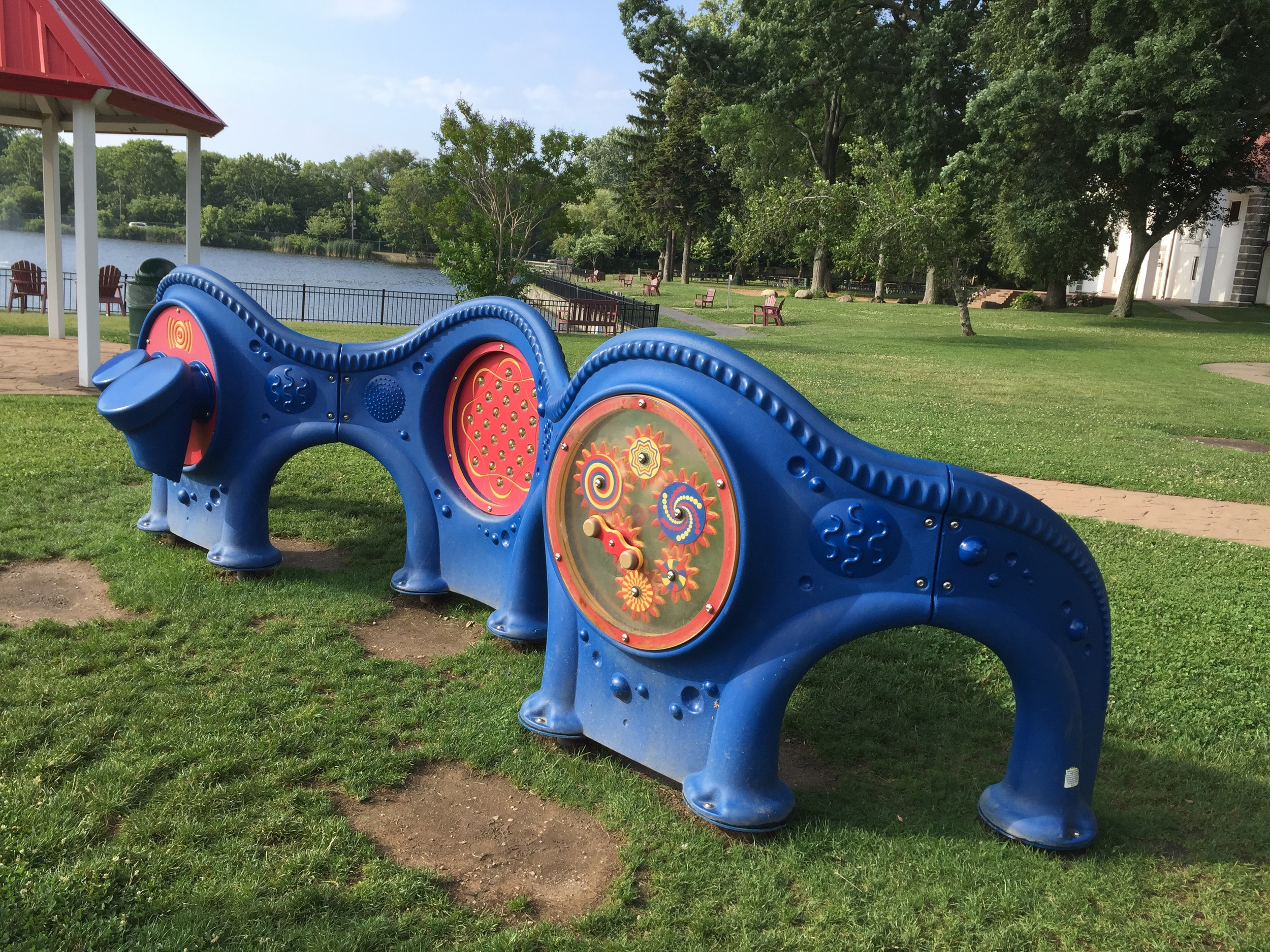 Music section at Phelps Lane Park