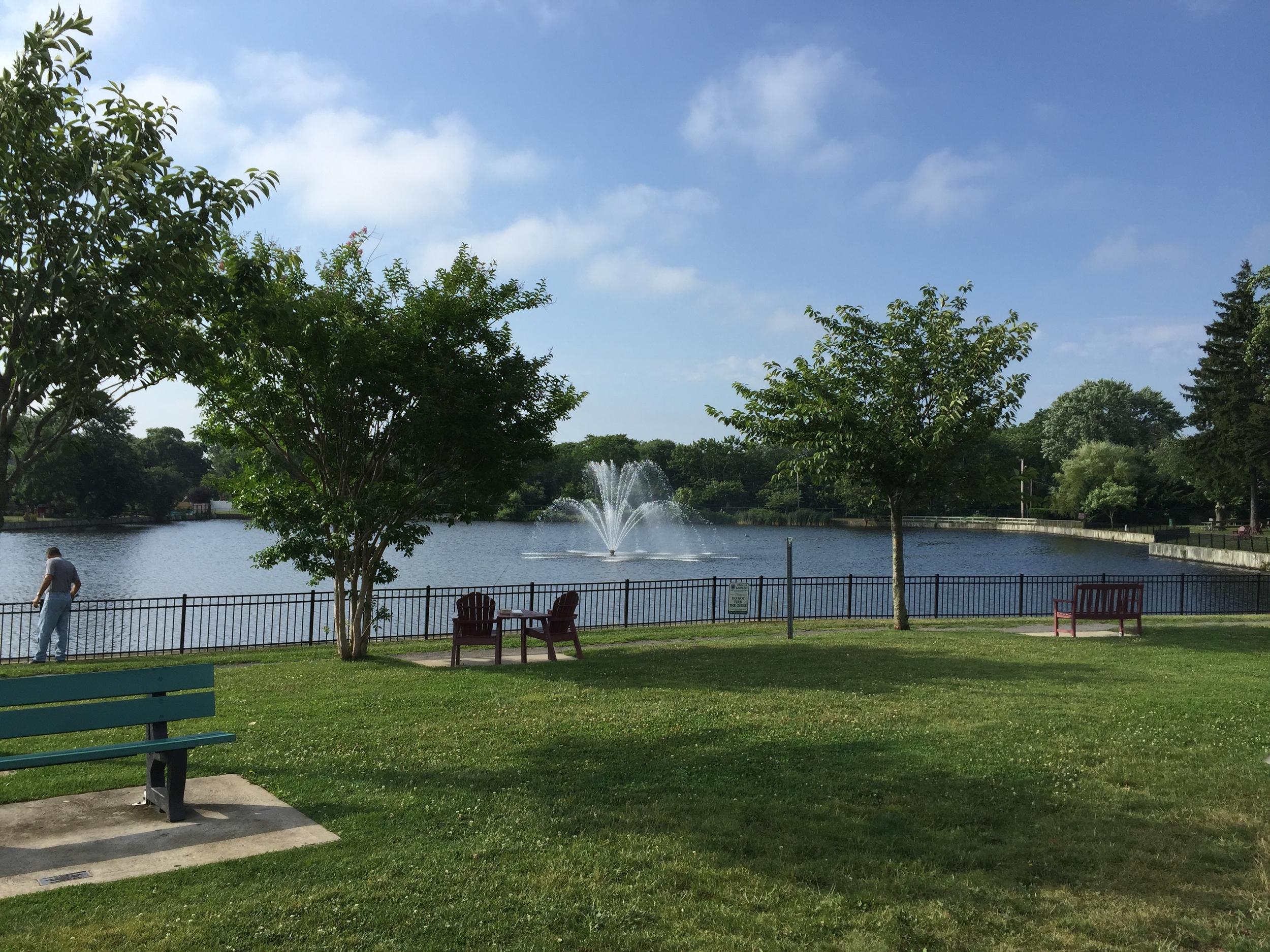 Lake at Phelps Lane Park