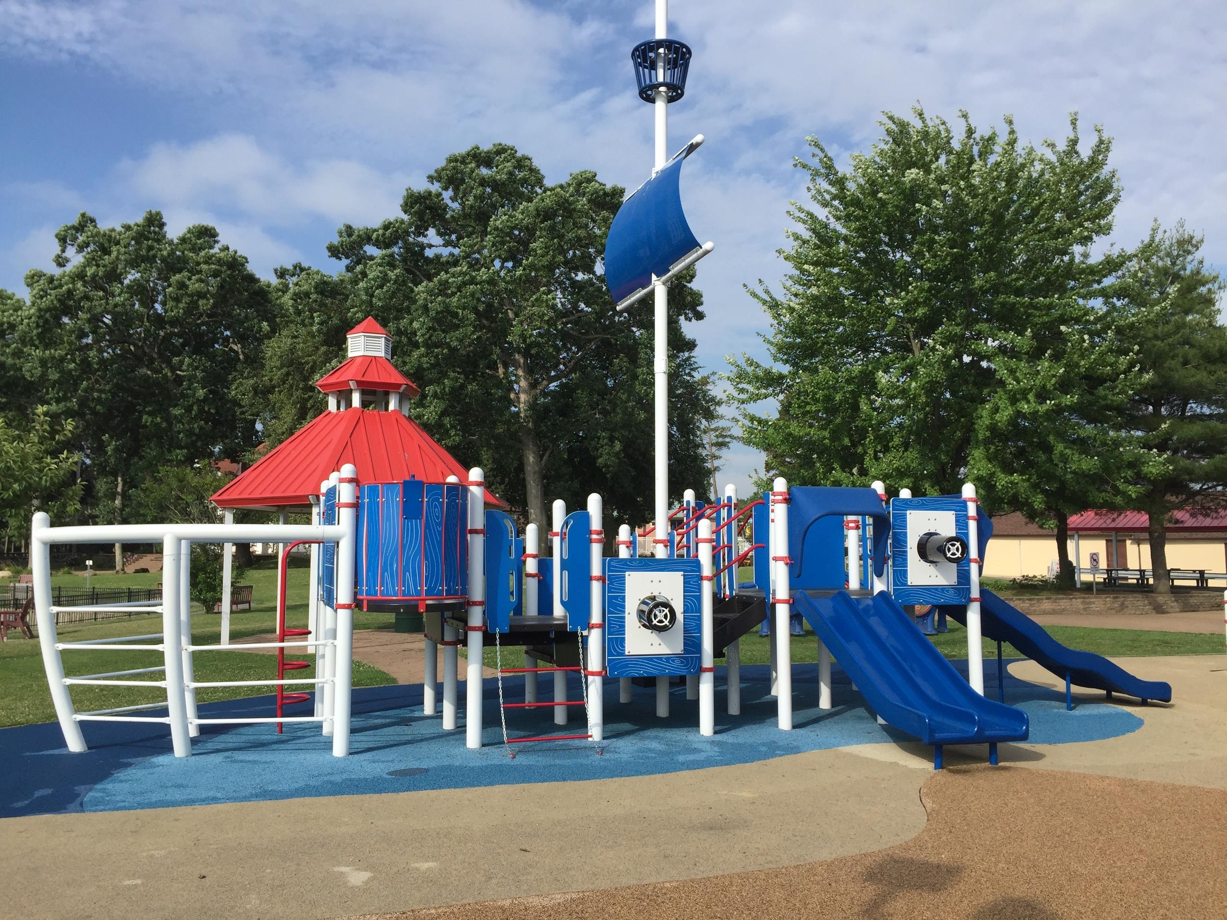 Little kid playground at Phelps Lane Park