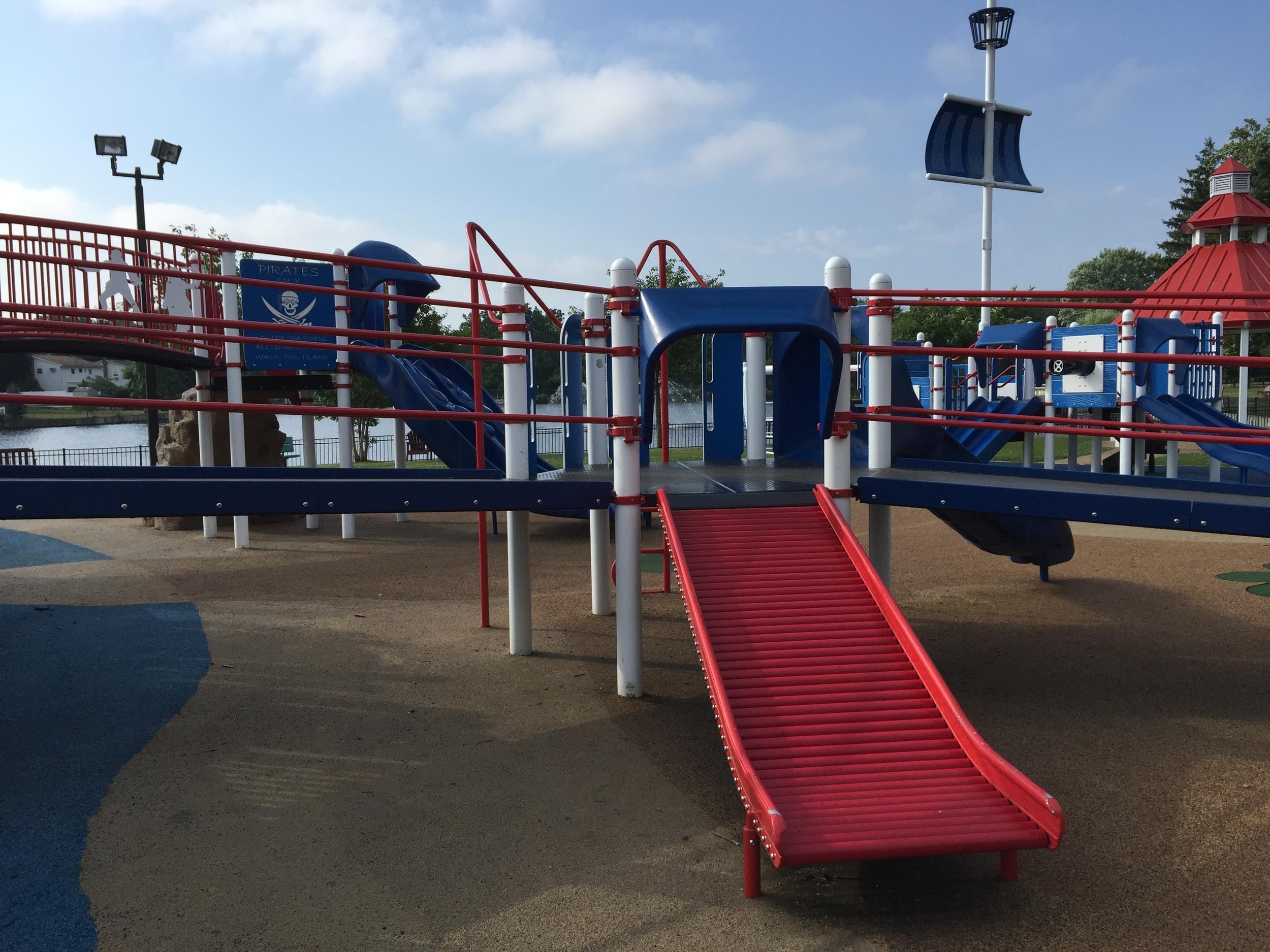 Roller slide at Phelps Lane Park