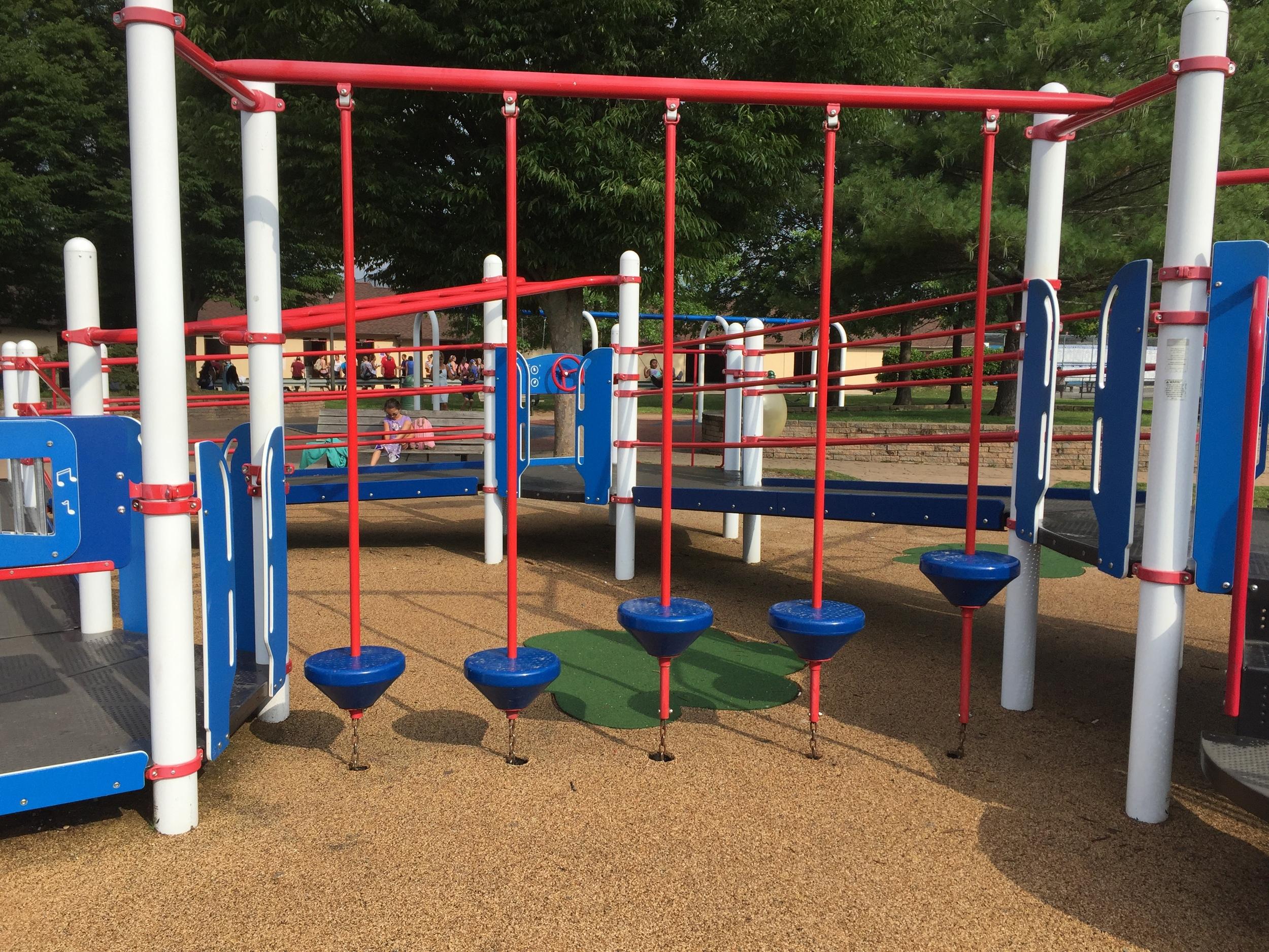Big kid playground at Phelps Lane Park