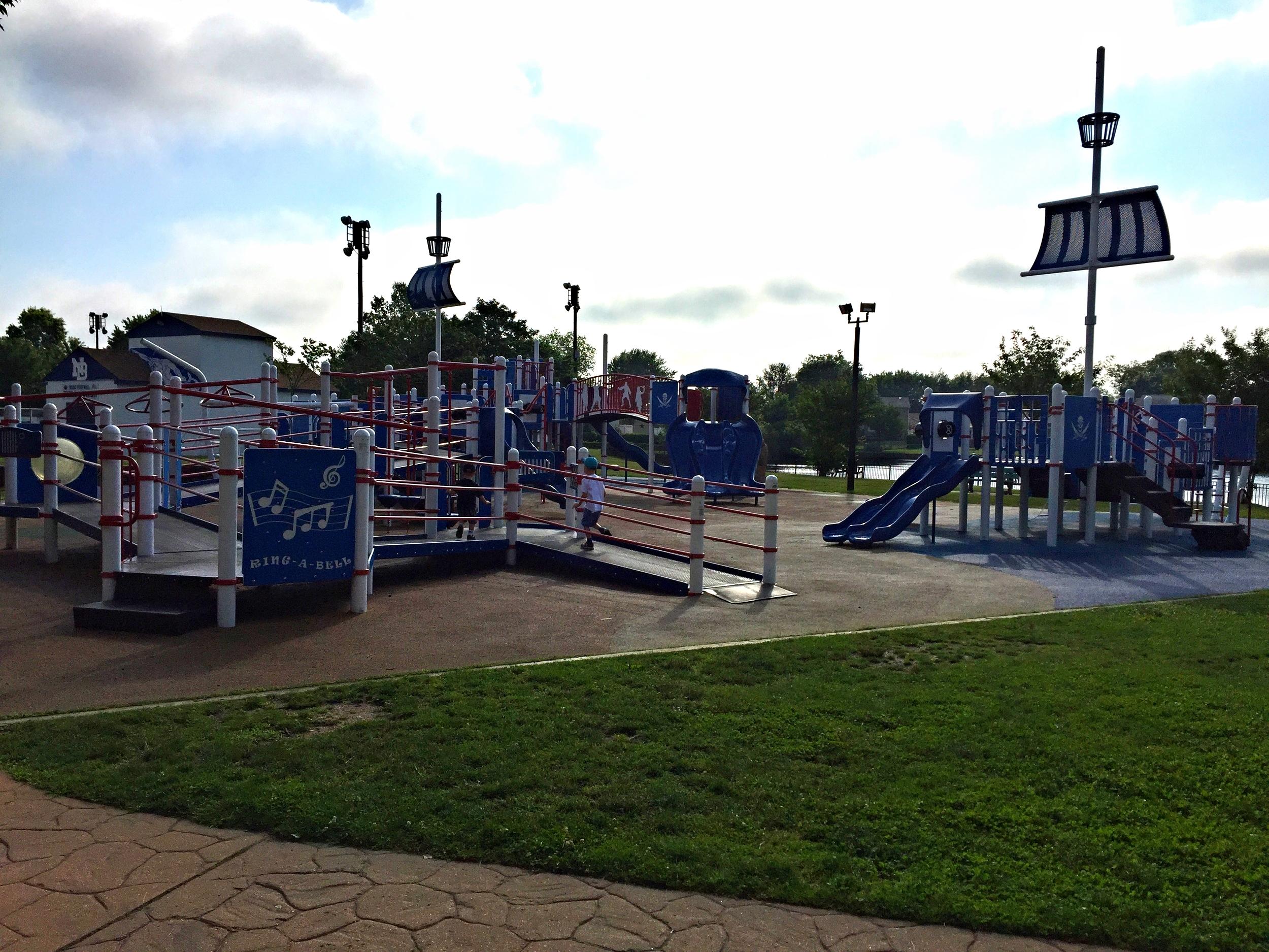 Playground at Phelps Lane Park