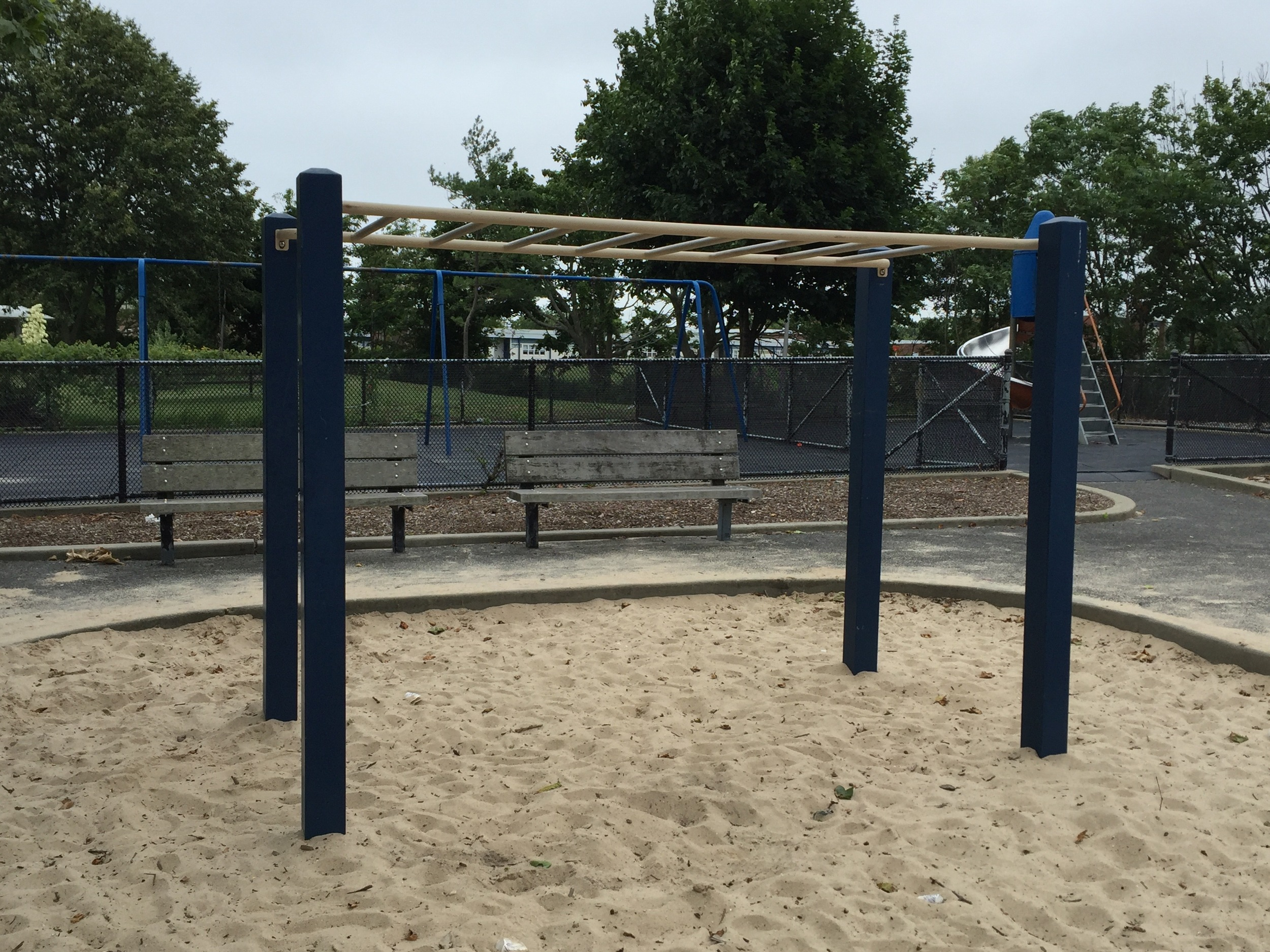 Monkey bars at Wantagh Park