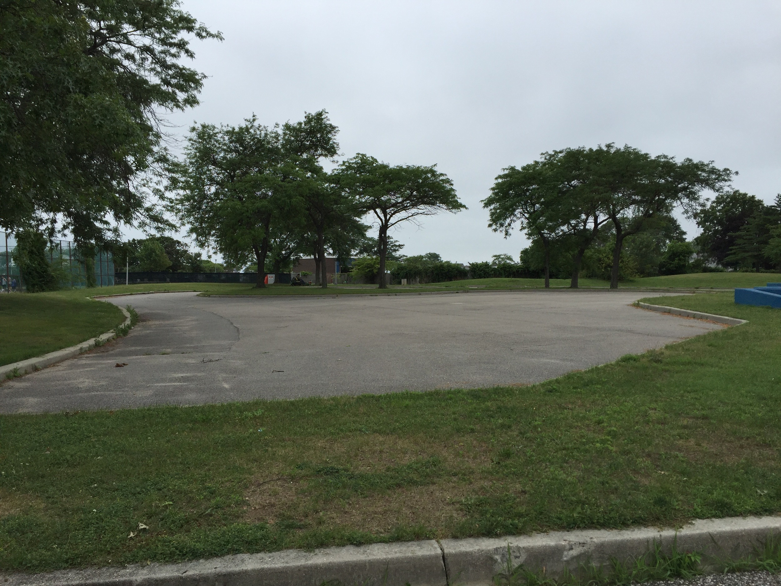 Marina playground skateboard area at Wantagh Park