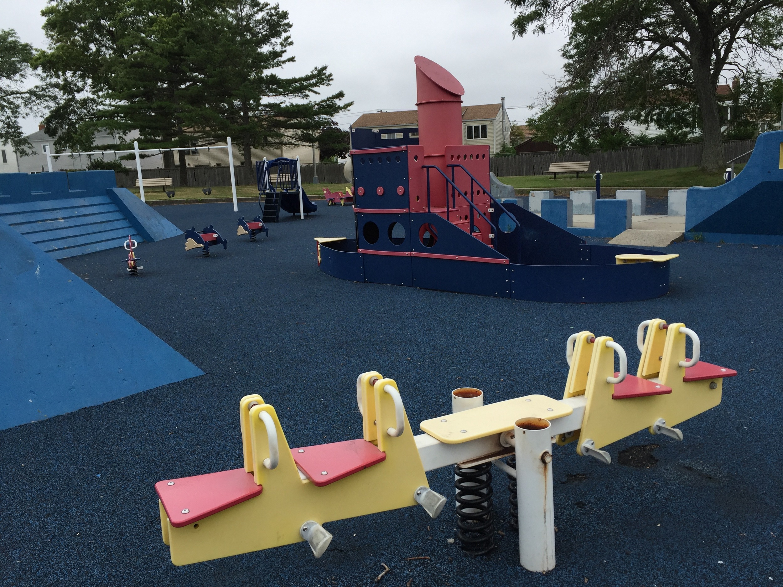 Marina playground at Wantagh Park