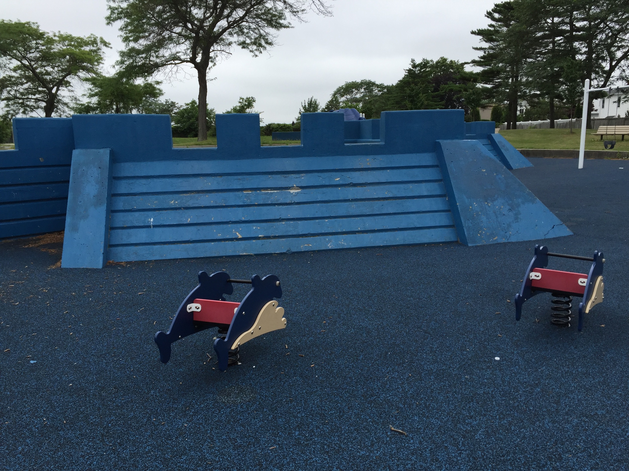 Marina playground fort at Wantagh Park