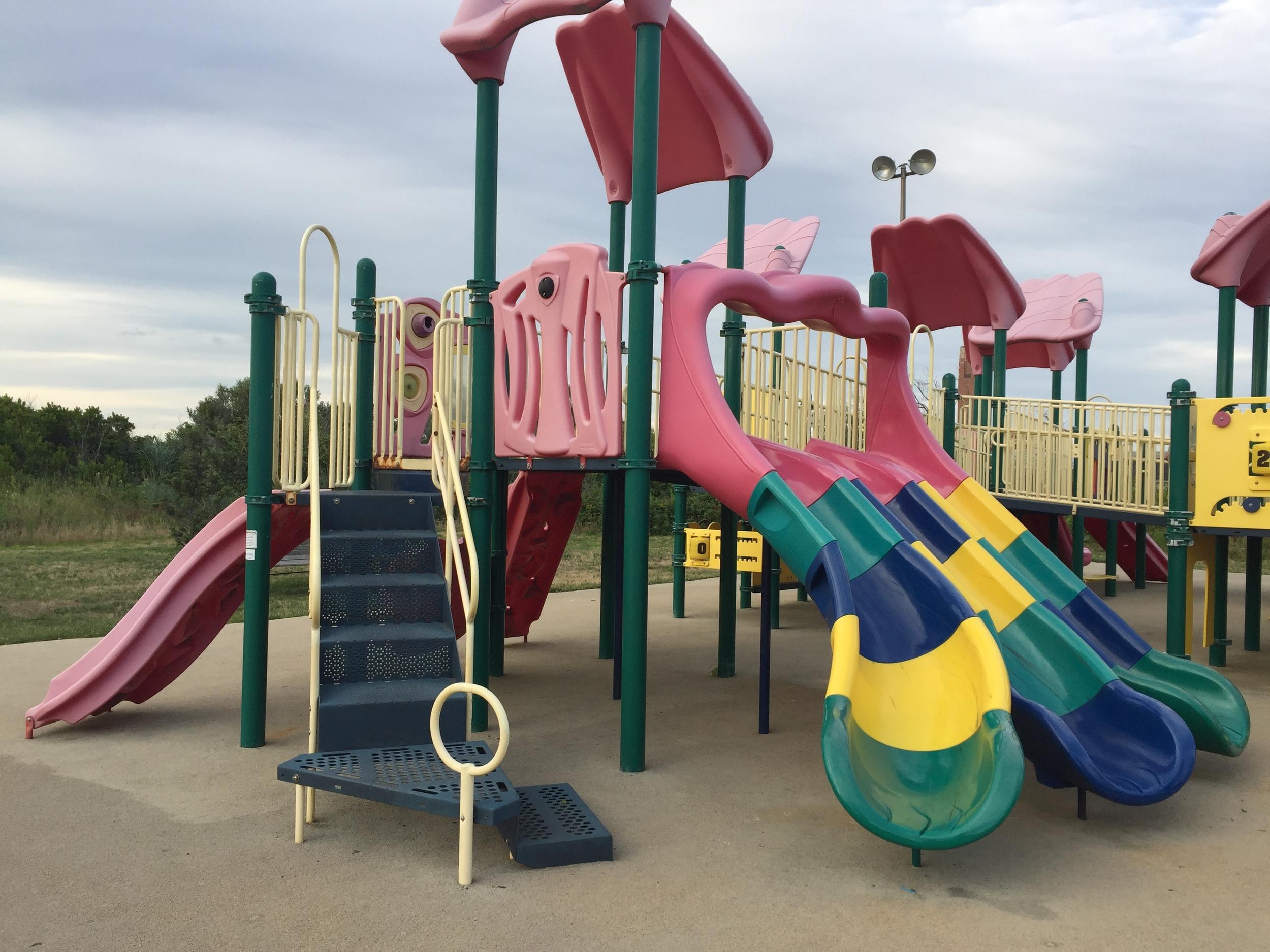 Boardwalk Playground at Jones Beach